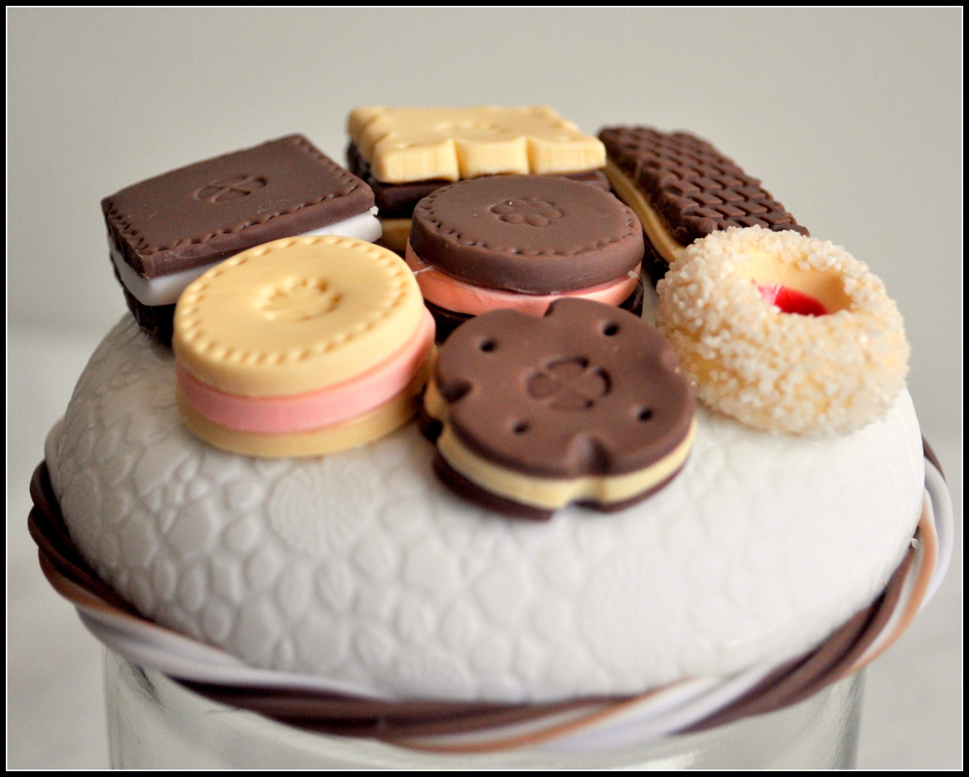 Pote de Biscoito em Biscuit | Elo7