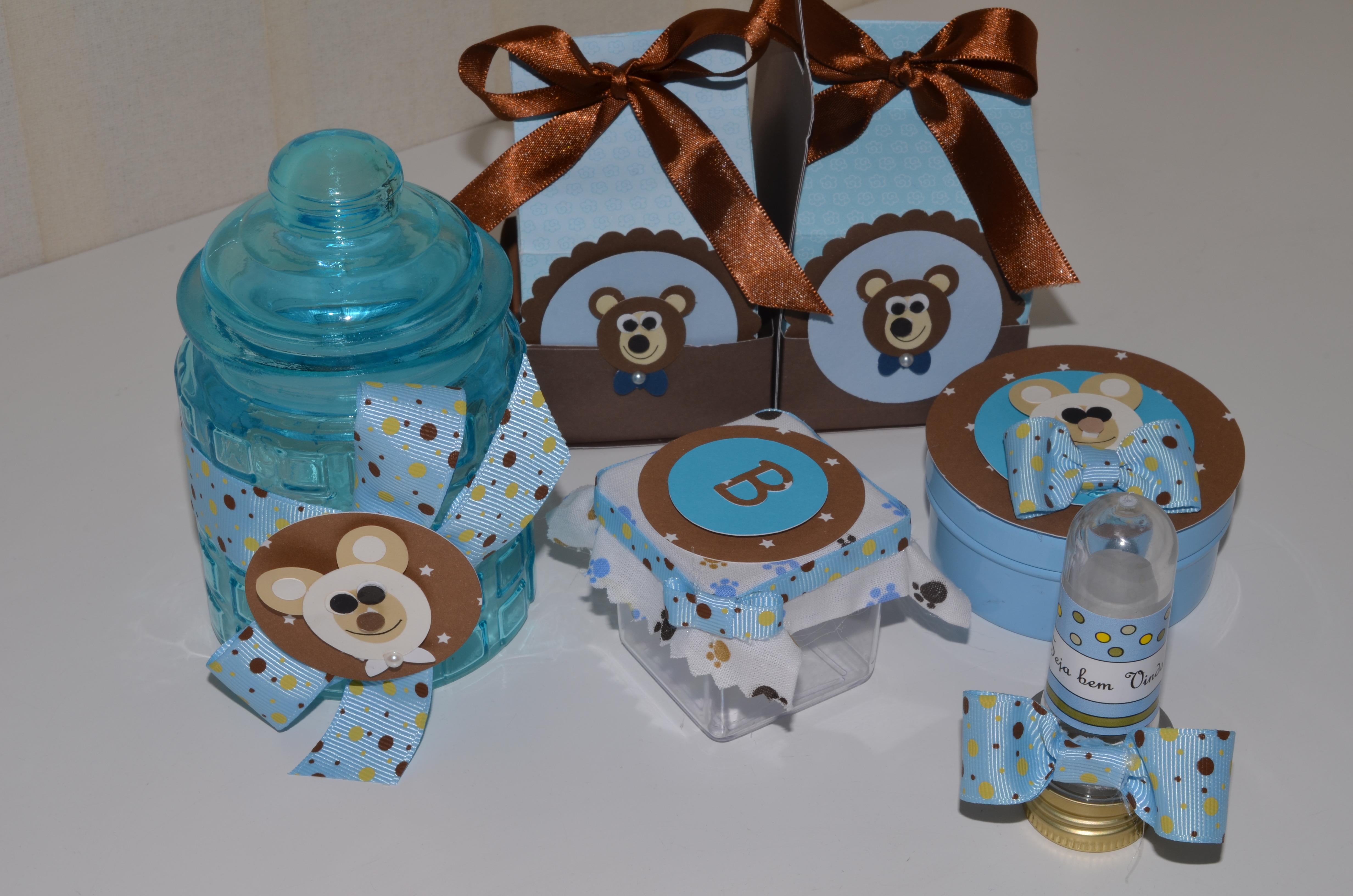 decoracao festa urso azul e marrom : decoracao festa urso azul e marrom:Azul Festa Clean Urso Marrom E Azul Festa Clean Urso Marrom E Azul