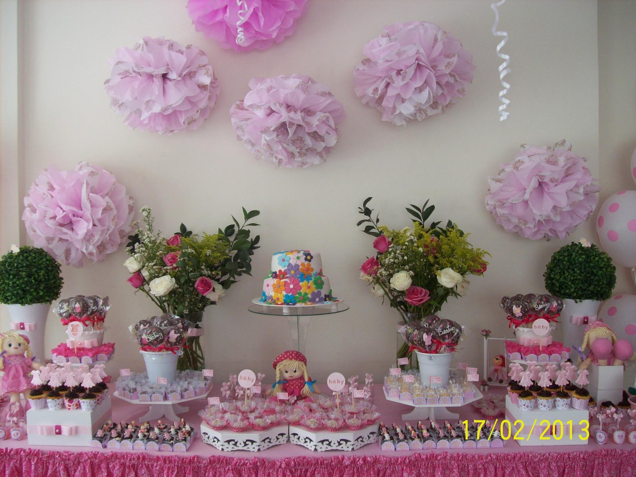 #913A66 Decoração Chá de Bebê menina. Beli Doces Doces e Artesanatos  2048x1536 px Banheiros Decorados Lilas 1007