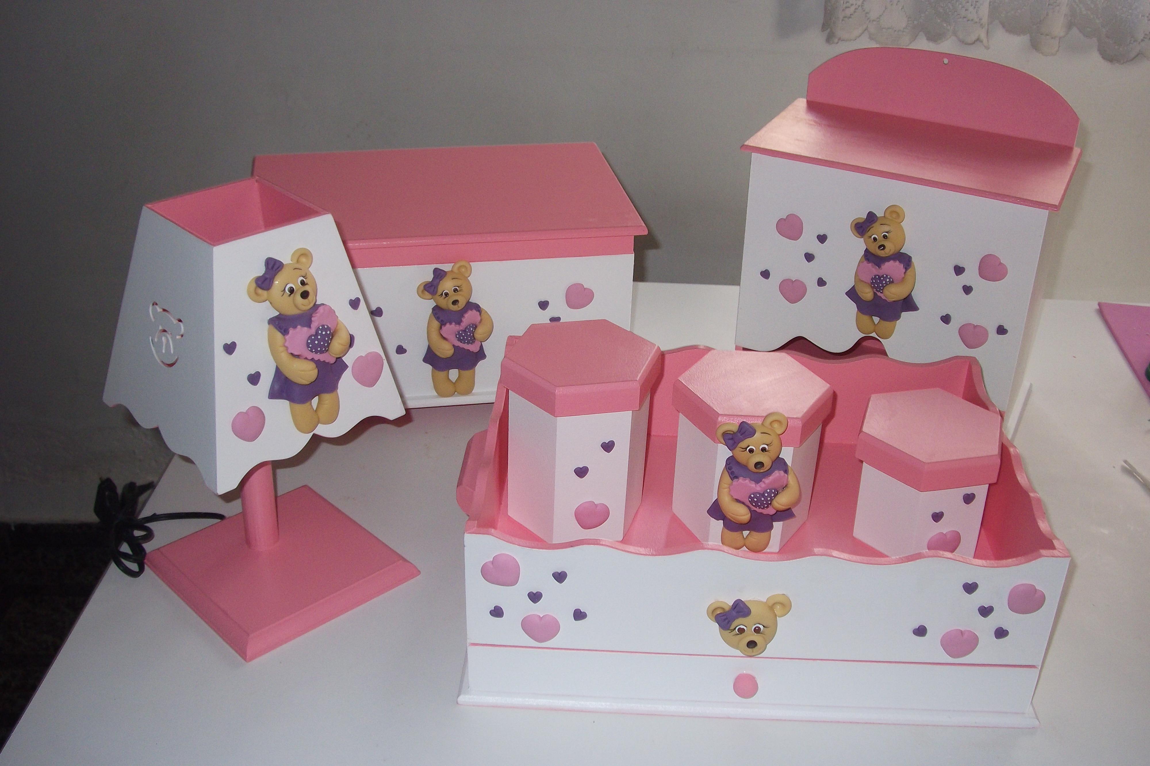 kit para quartos de bebê  tania biscuit com amor  Elo7