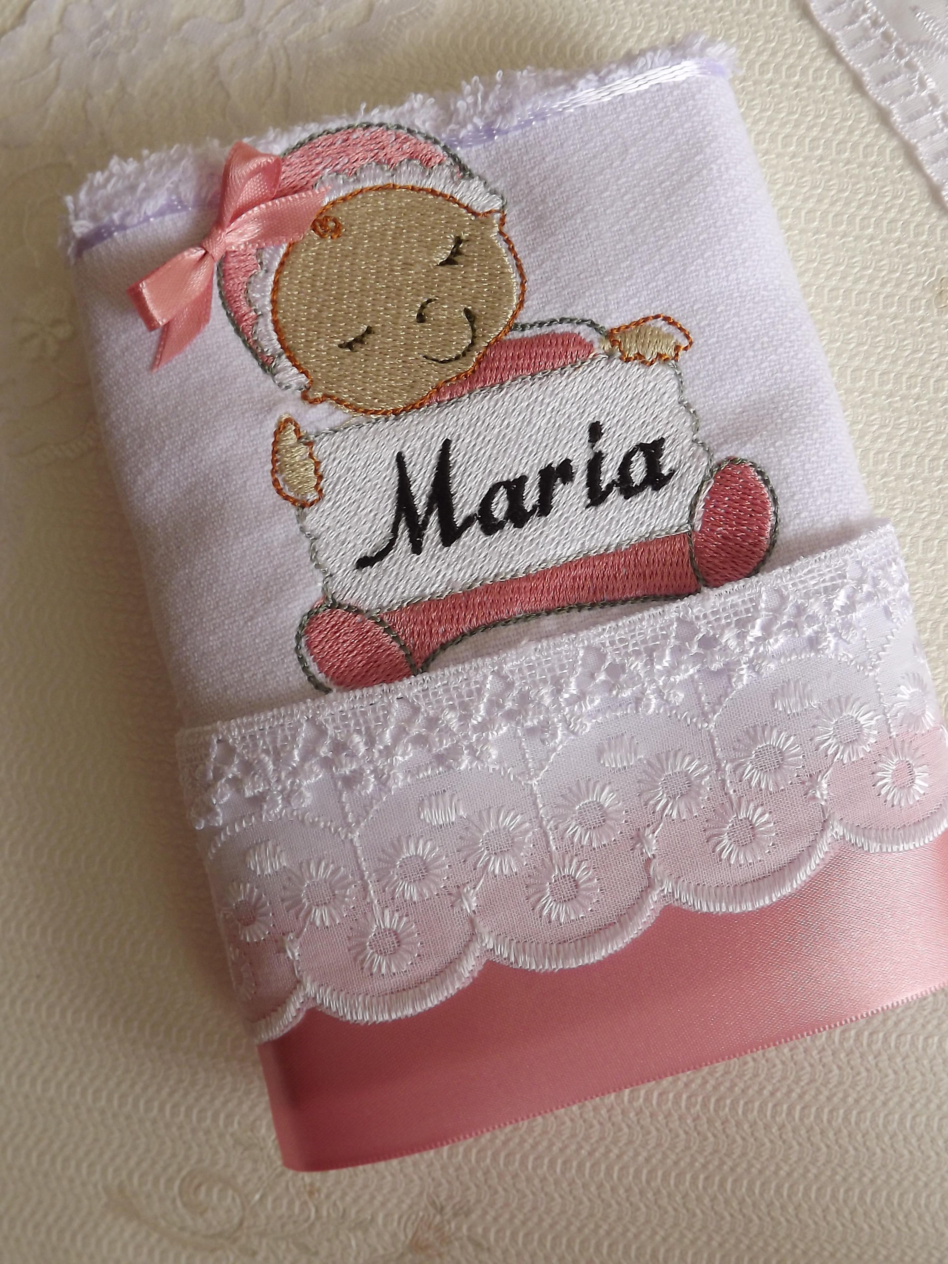 toalha lavabo beb rosa maria de boneca elo7. Black Bedroom Furniture Sets. Home Design Ideas