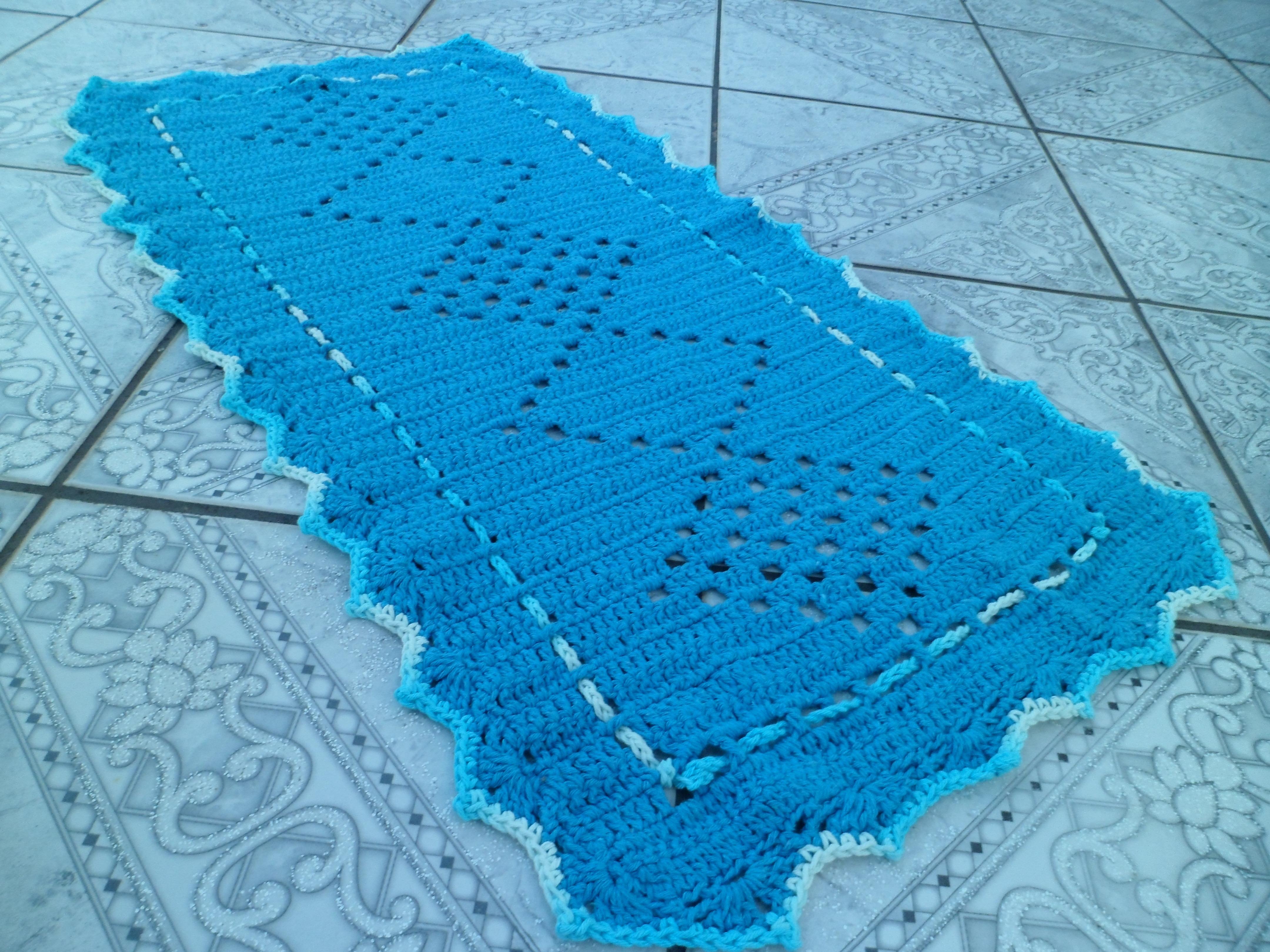Banheiro Croch Barbante Maria Tima Alvarenga Mania Croch Jogo Tapetes #0489C7 4320 3240