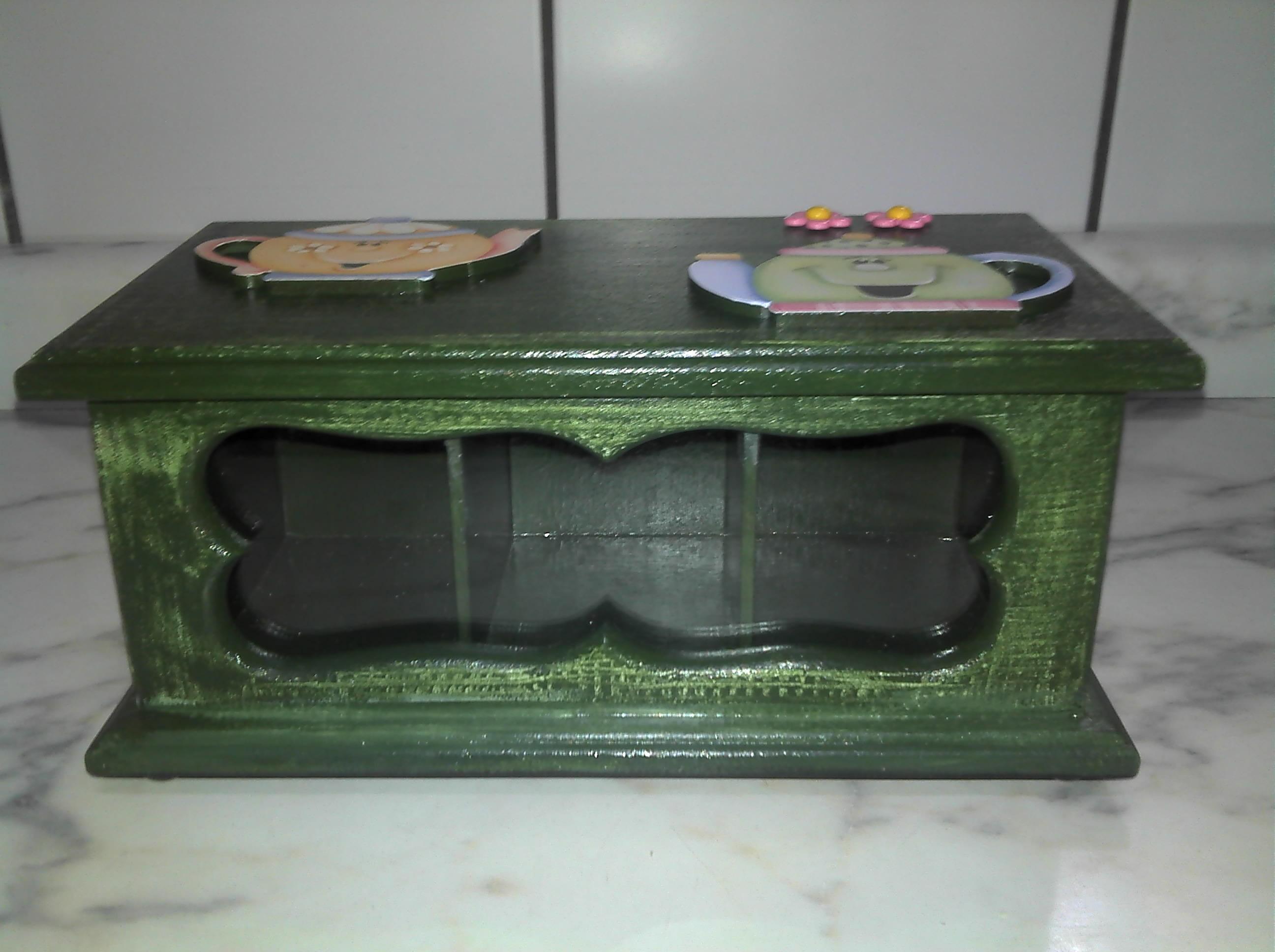 decoupage em madeira caixa de cha com decoupage em madeira caixa de  #4E567D 2592x1936
