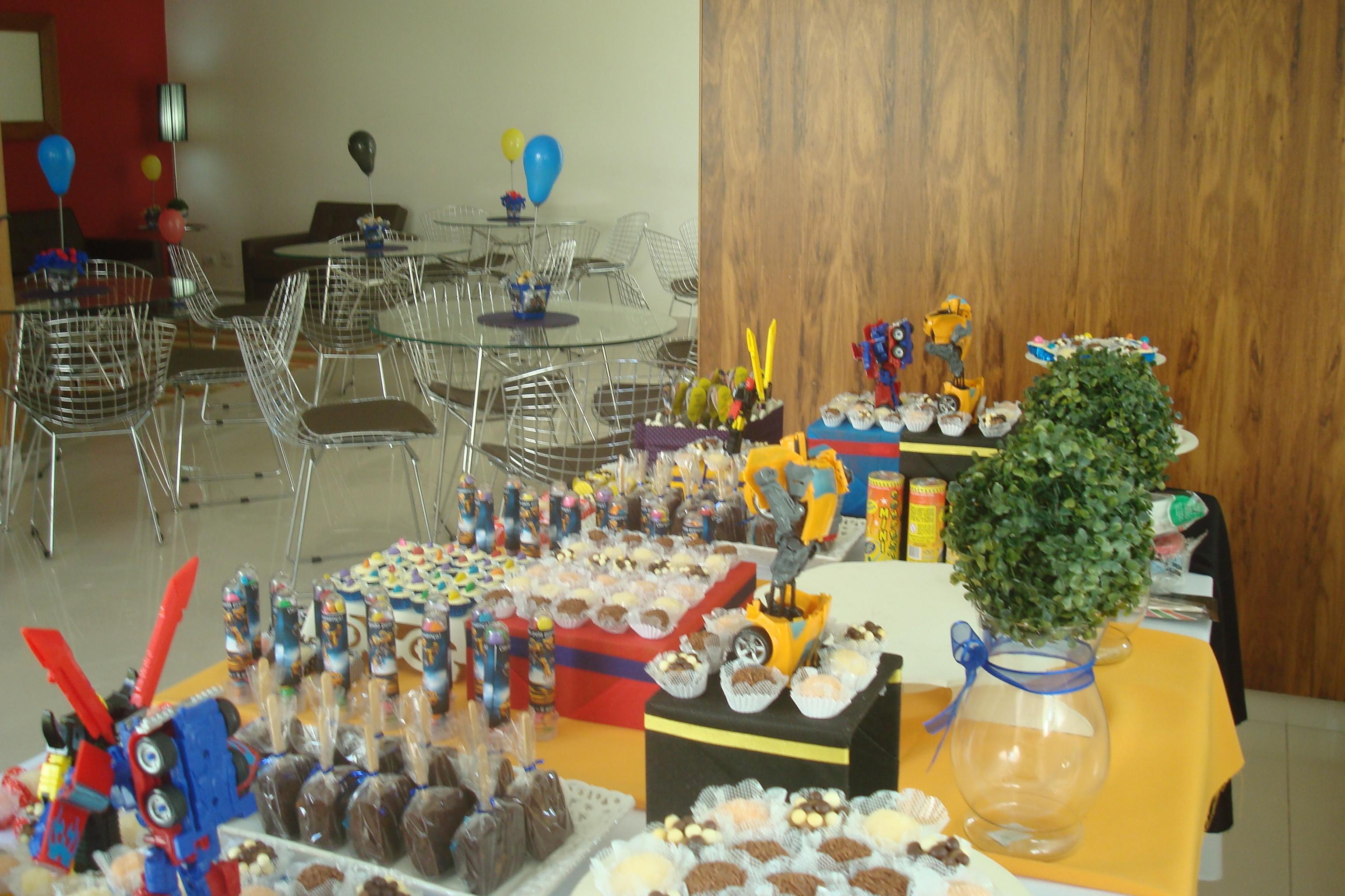 mesa tema transformers decoracao de mesa tema transformers decoracao