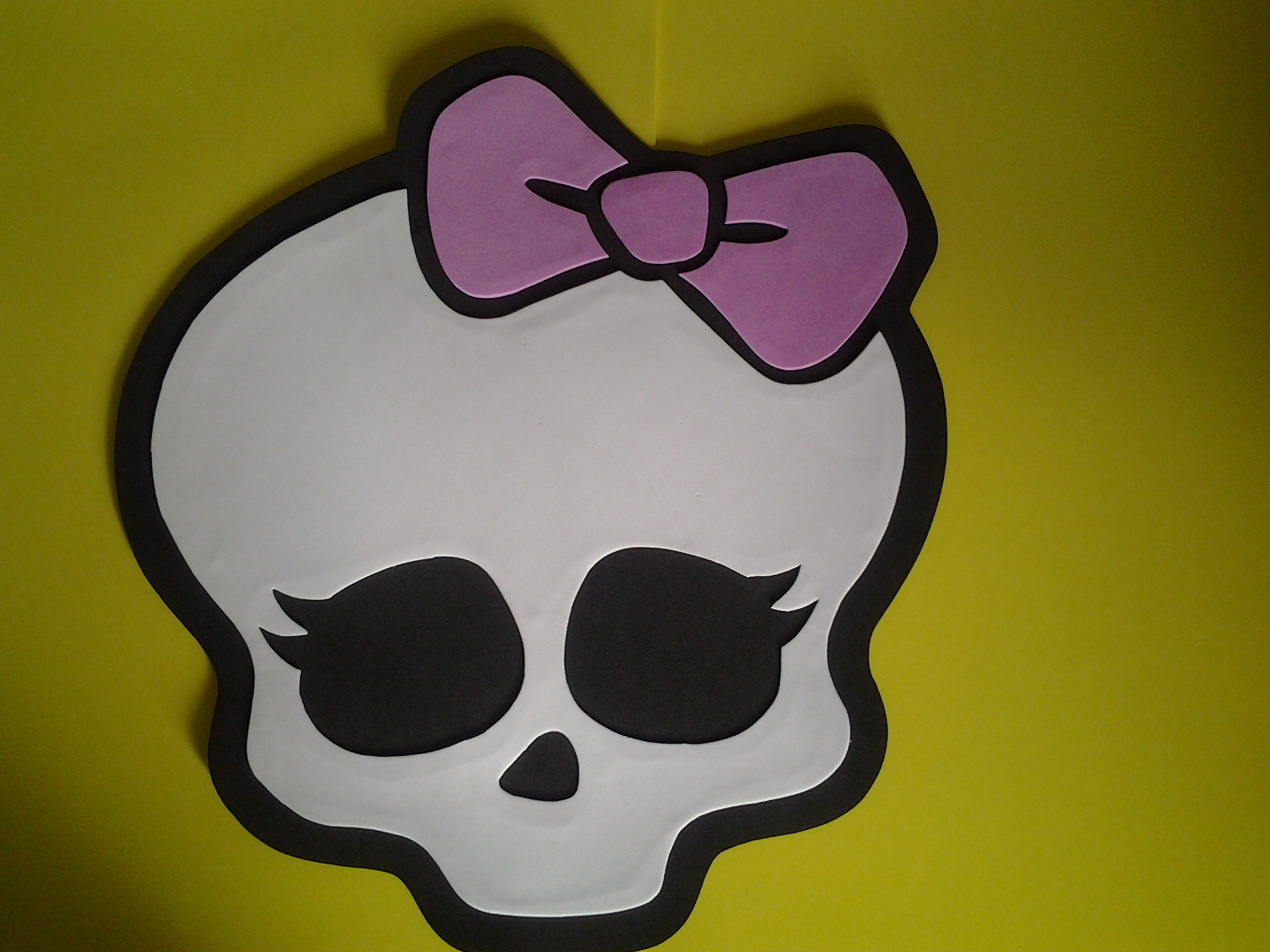 Placa De Eva Da Monster High Placa De Eva Da Monster High