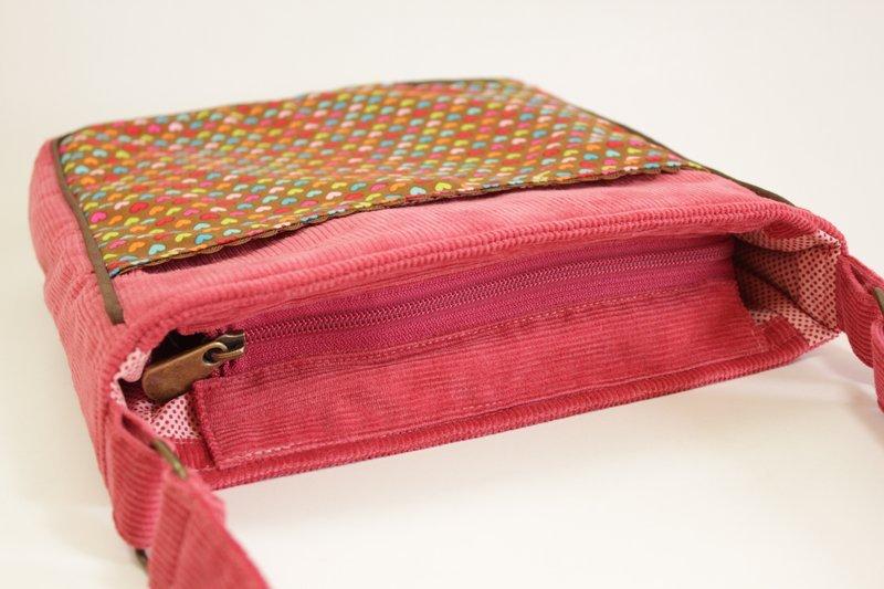 Bolsa De Tecido Com Renda : Bolsa feminina tiracolo tribal verde outlet la loba elo