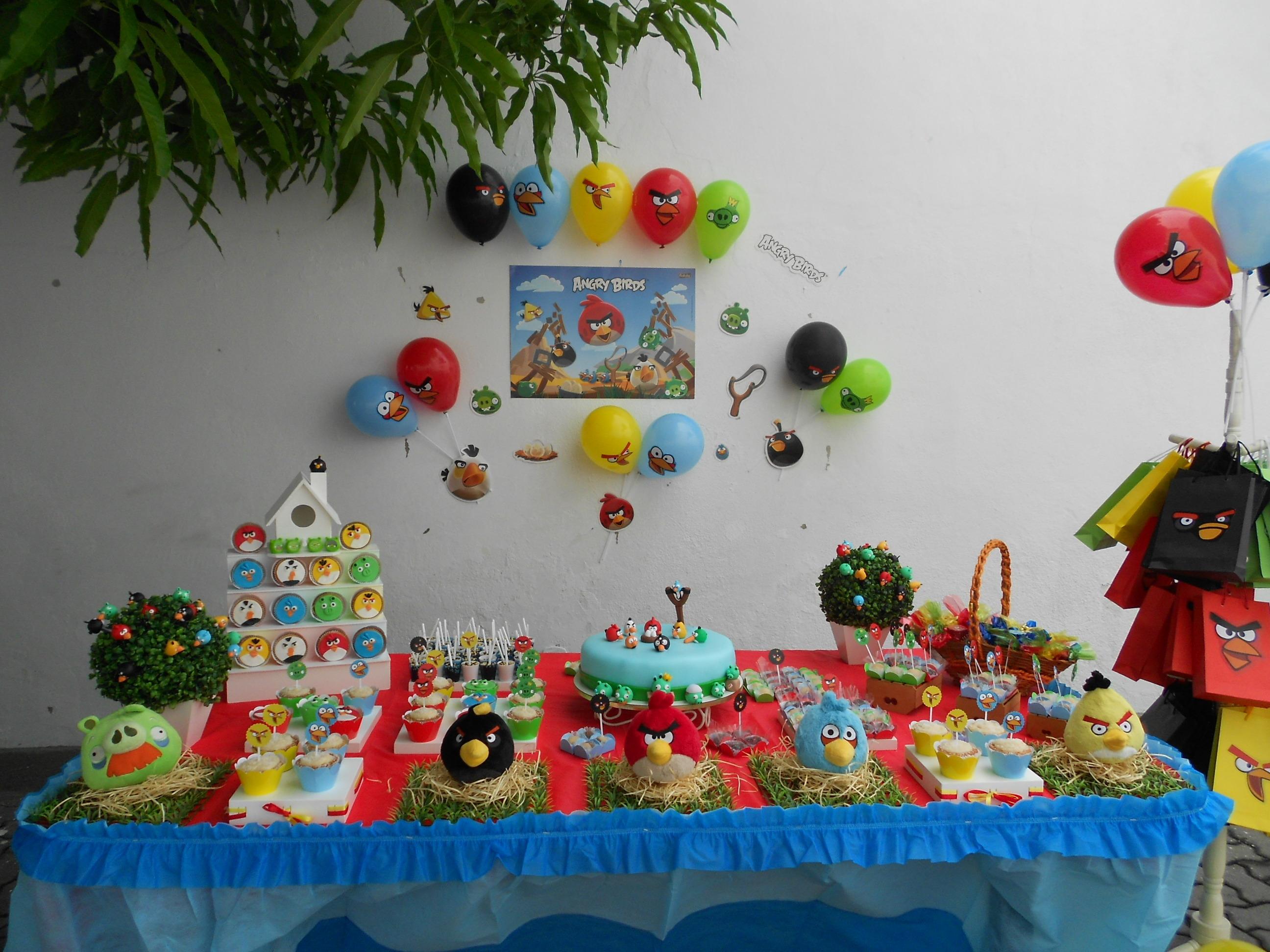 decoracao festa simples:decoracao simples angry birds decoracao simples angry birds decoracao