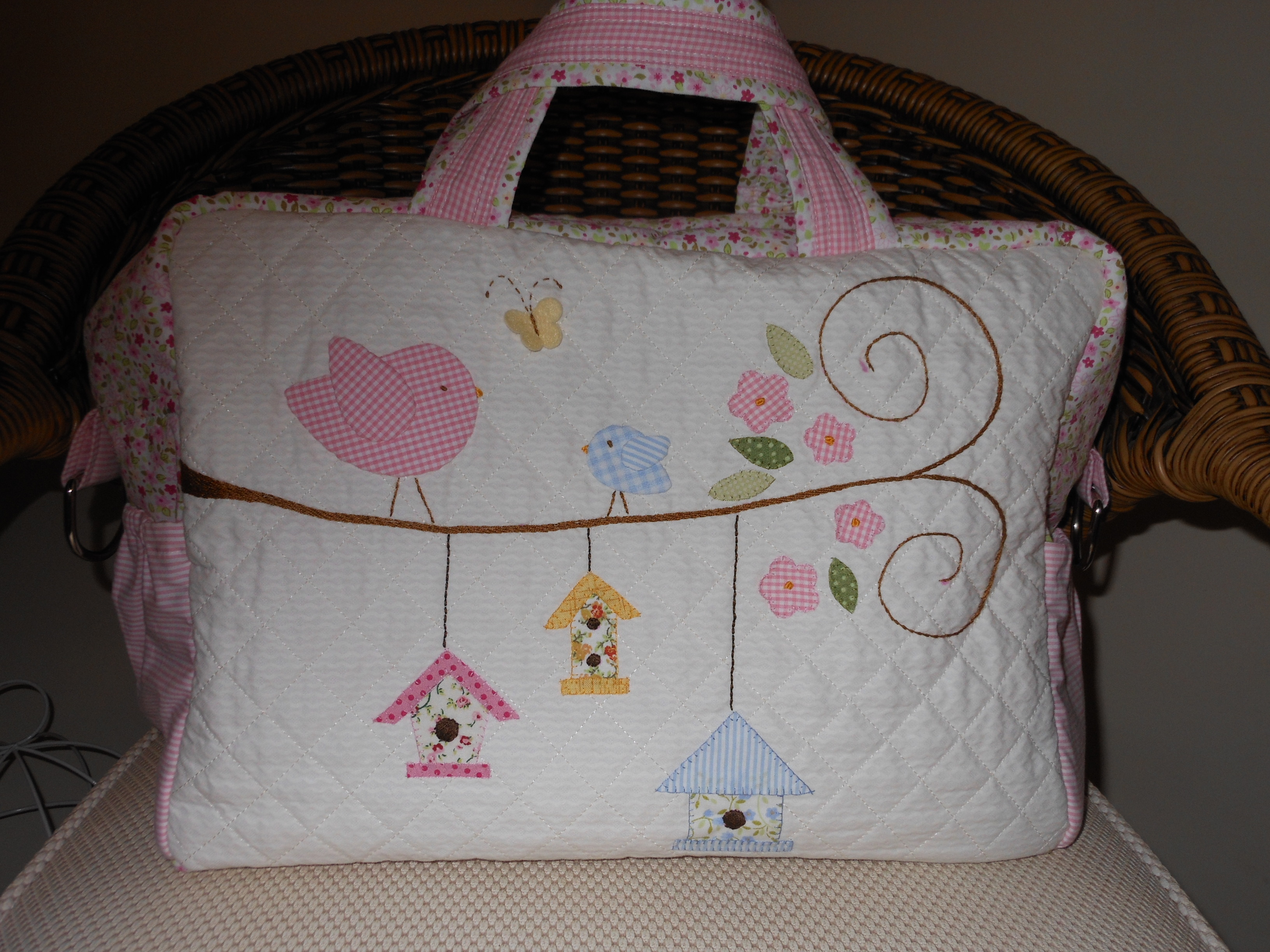 Bolsa De Tecido Bebe : Bolsa para beb? katze patchwork elo