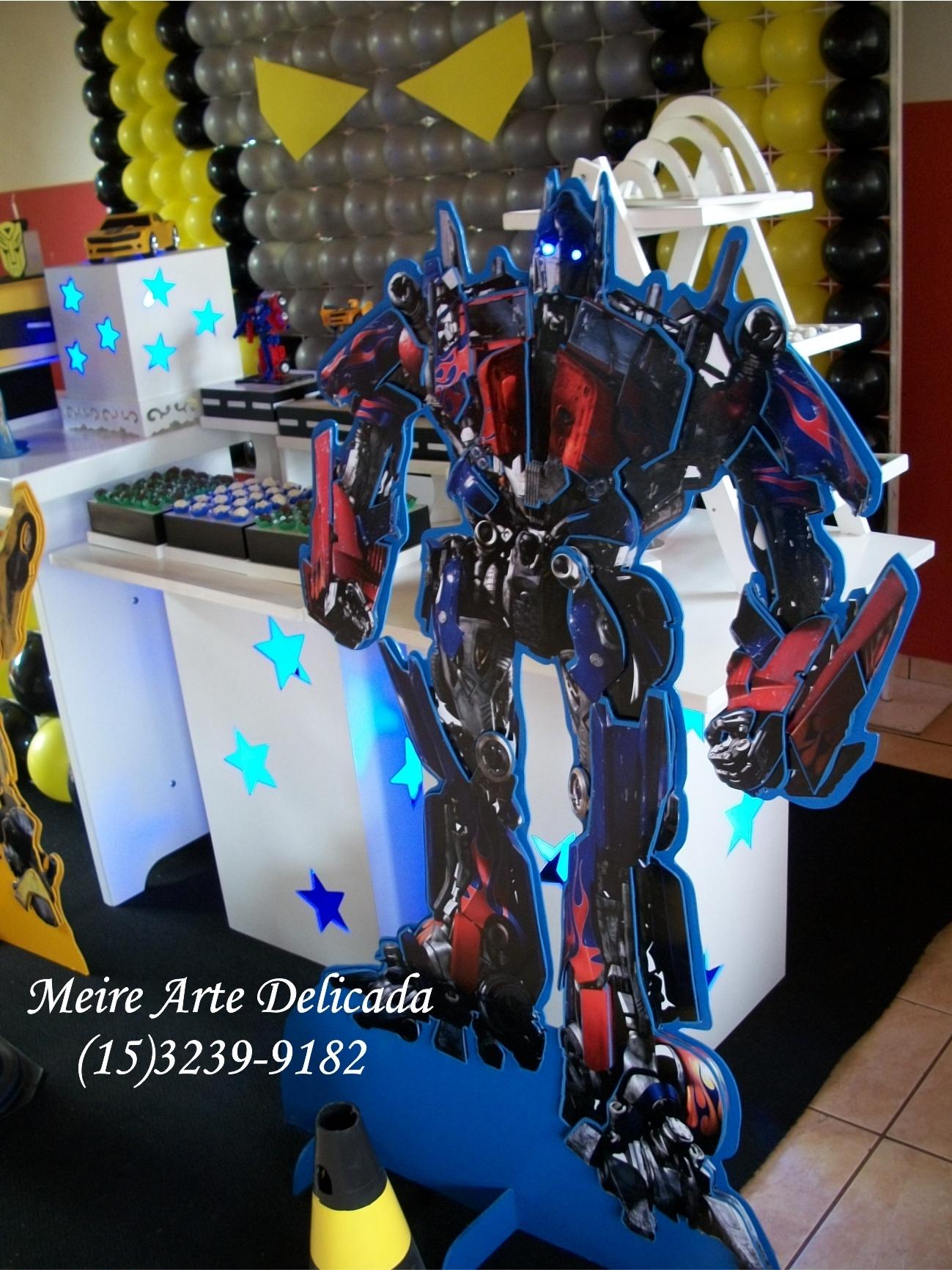 decoracao festa transformersfesta dos Transformers Clean Decoração