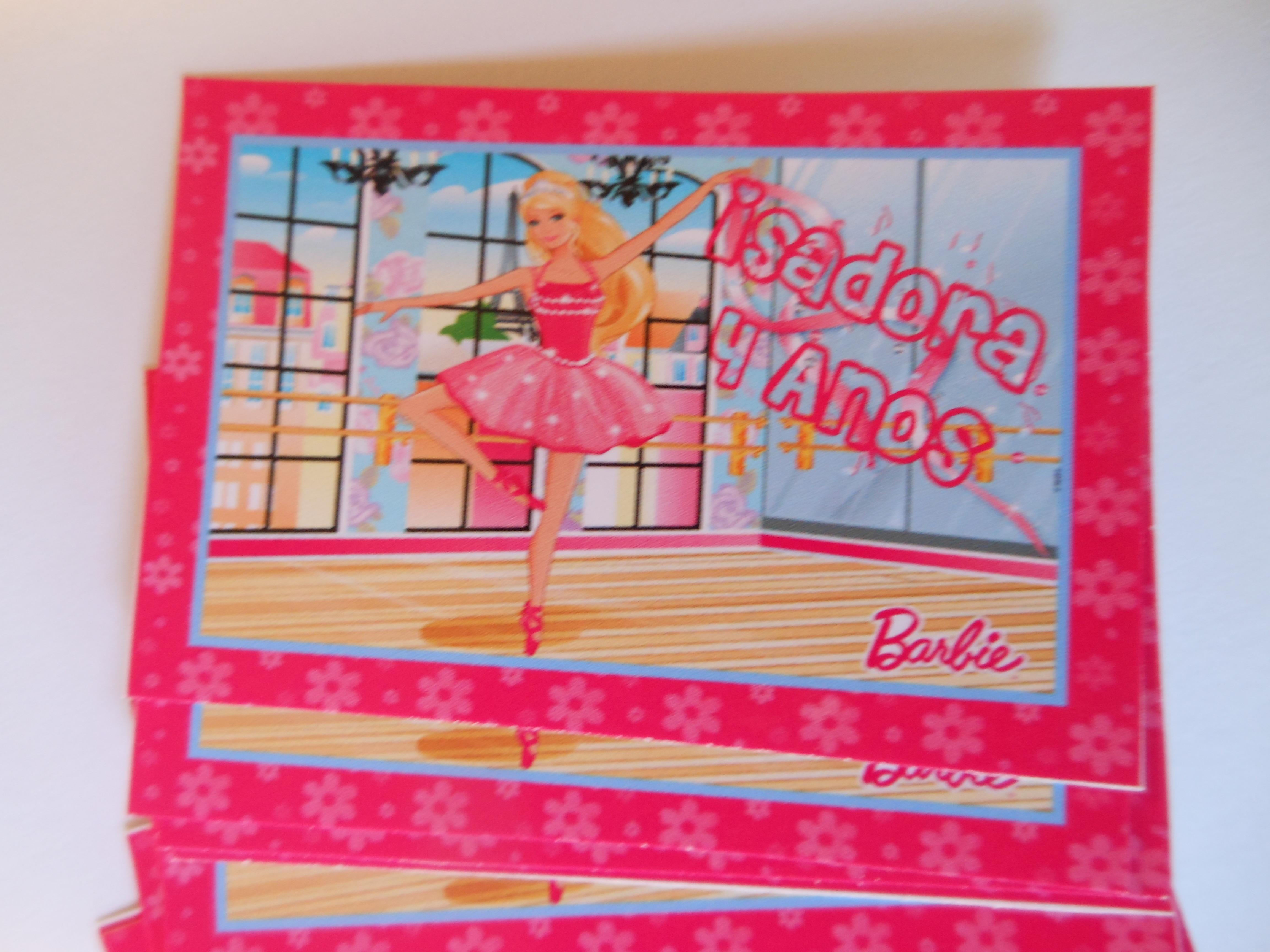 Artesanato Brasileiro No Exterior ~ Adesivo Para Tubete Barbie Bailarina MaravilhArt Elo7