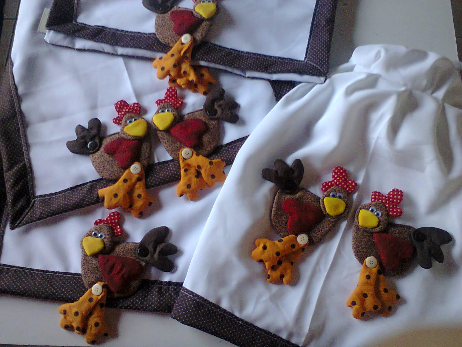 kit decoracao cozinha:Kit de Cozinha Galinha Cocó