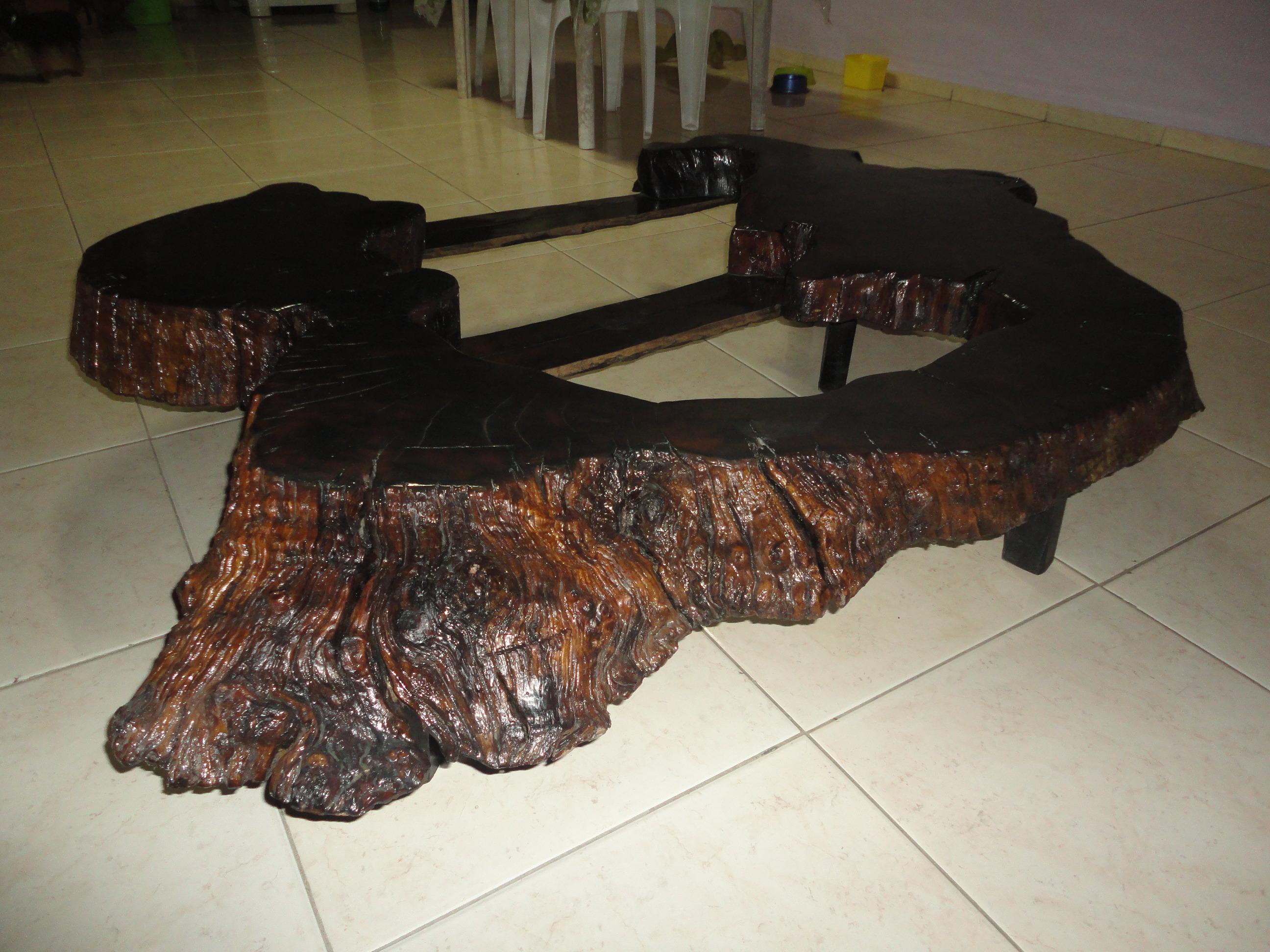 Mesa de centro tapa cristal elevable con cajones ref - Mesa de centro rustica ...