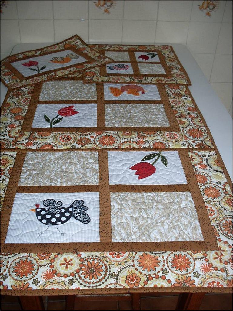 Patchwork Tapete Cozinha Passo A Passo : jogo de cozinha em patchwork jogo de cozinha em patchwork