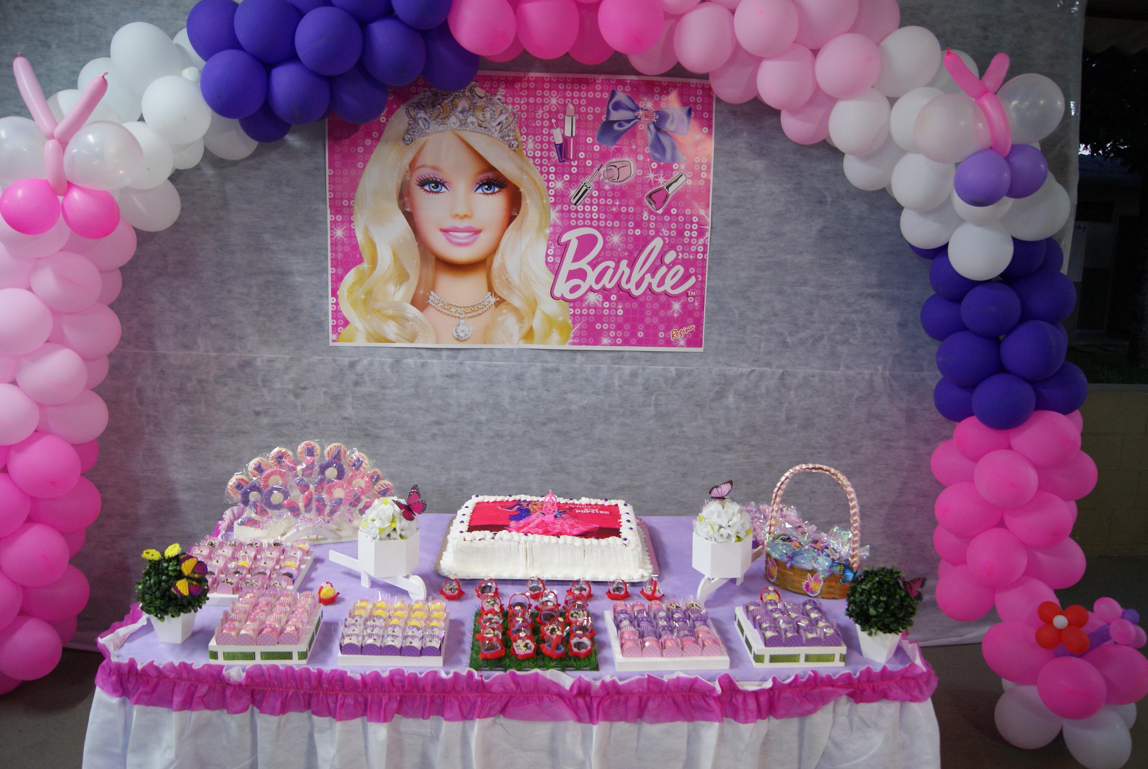decoracao festa barbie ? Doitri.com