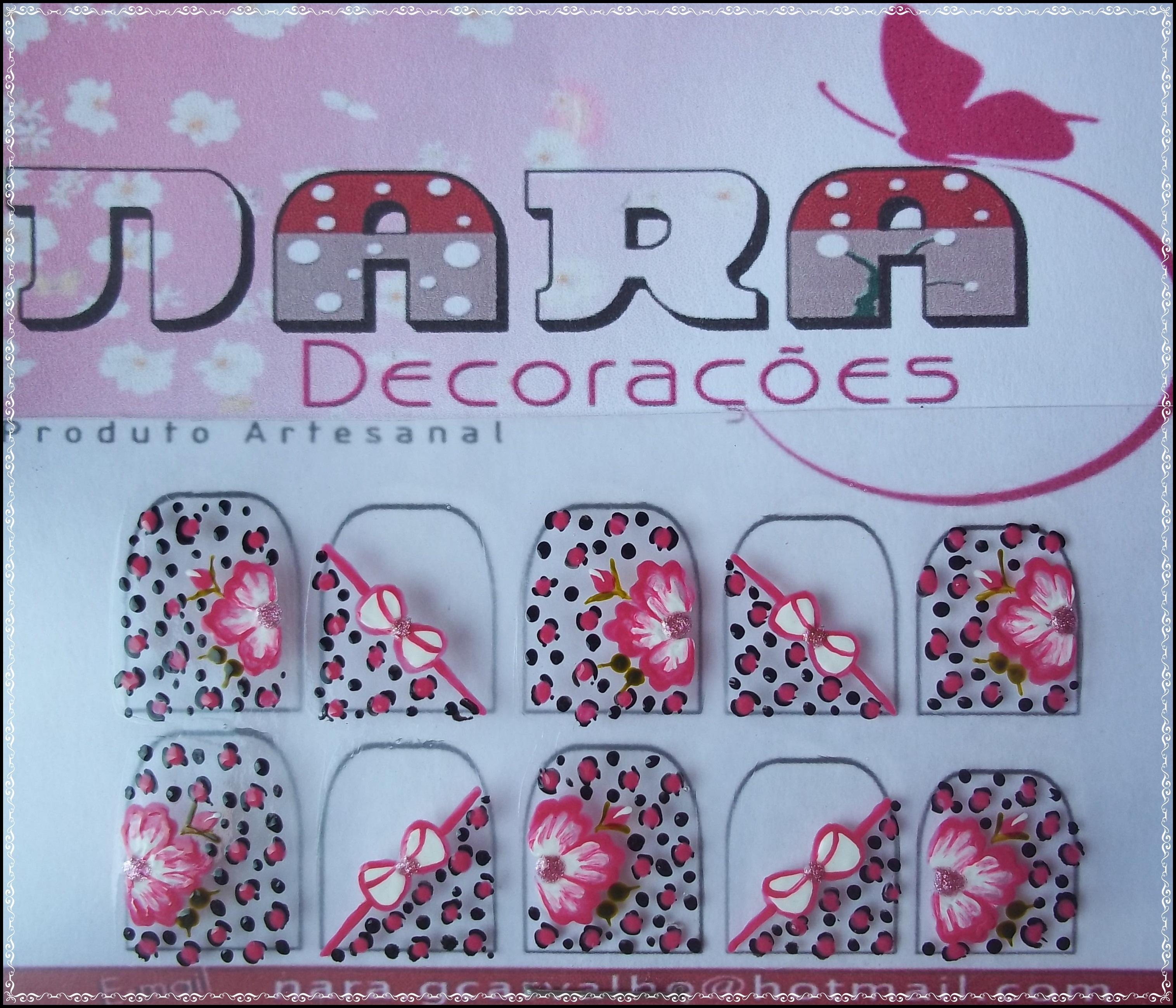 Artesanato Brasileiro Em Sp ~ Adesivos oncinha com flor e laço Nara Decorações Elo7