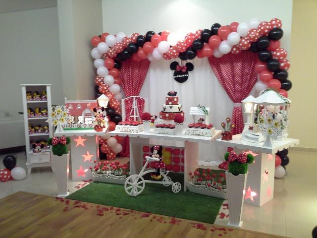 decoracao da minnie vermelha decoracao clean decoracao da minnie