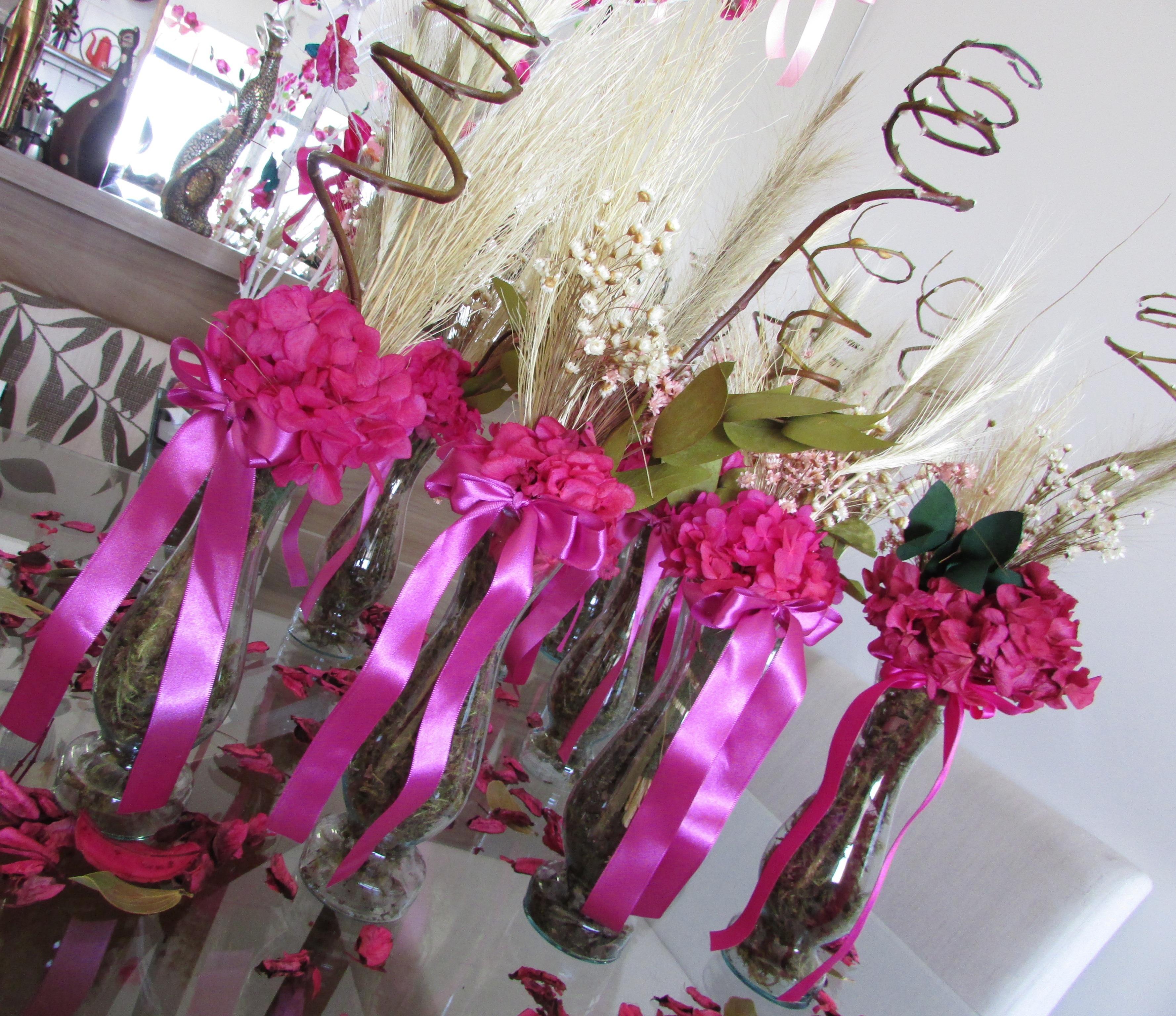 Centro de mesa com flores secas auto design tech - Centros de mesa de flores ...