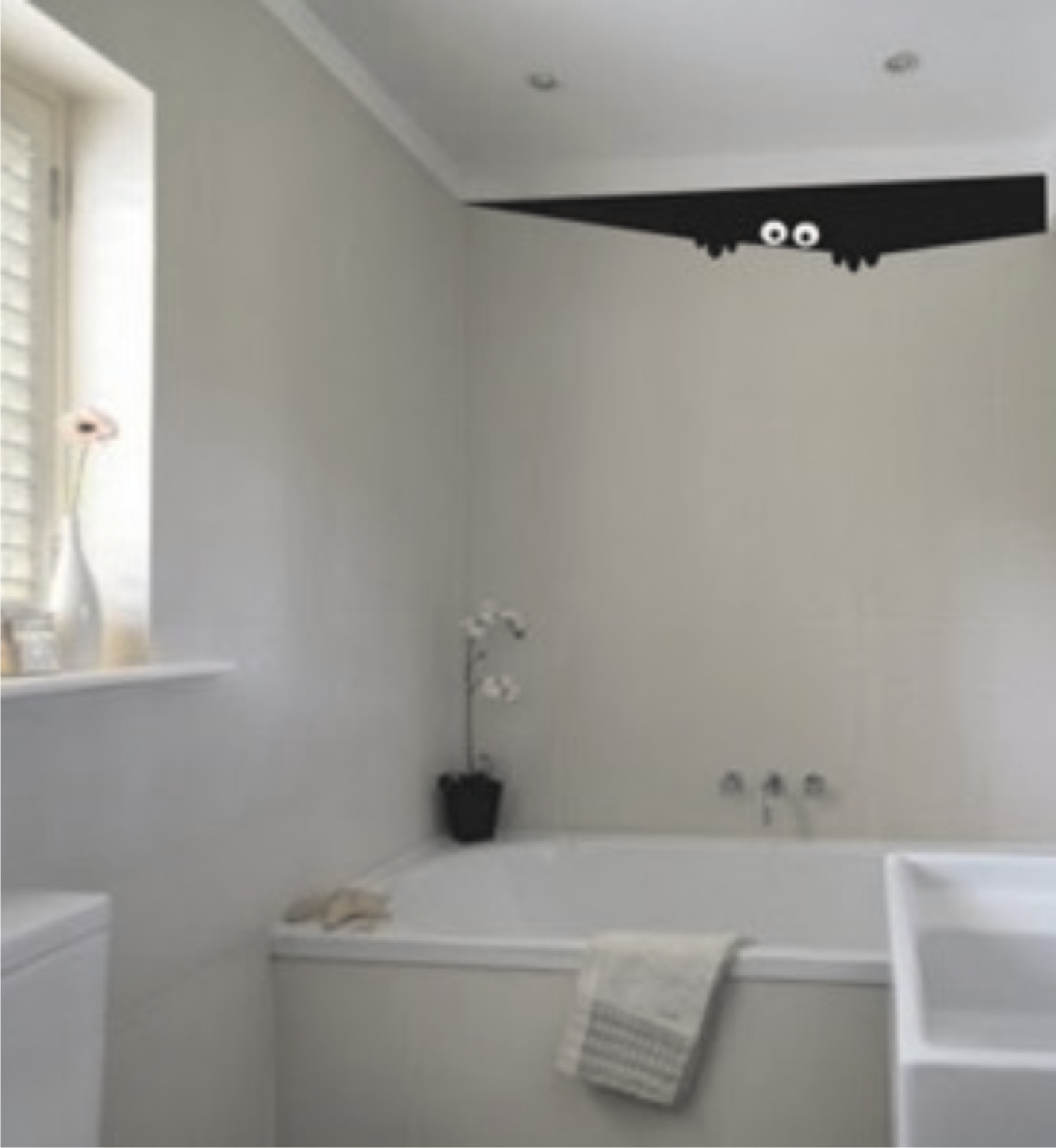 ... decorativo - espiando do teto Adesivo decorativo - espiando do teto