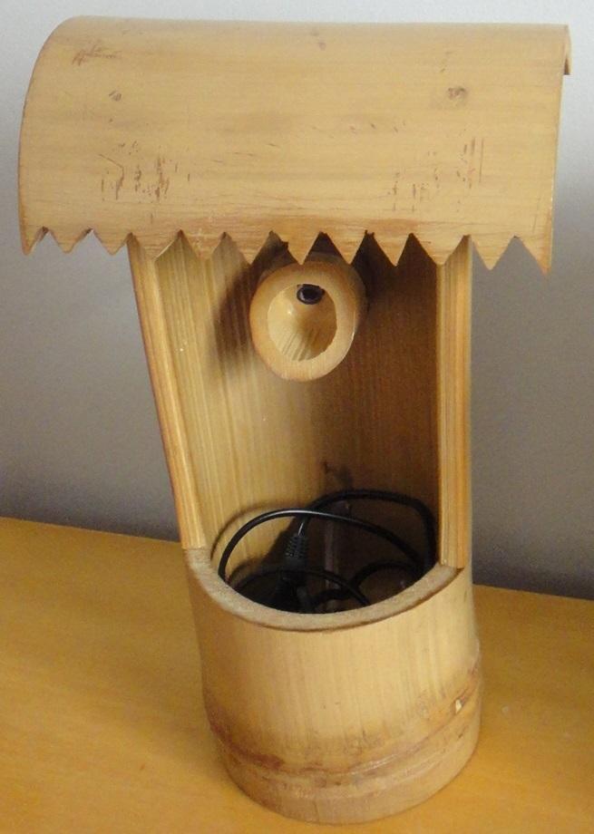 fontes de agua para decoracao de interiores : fontes de agua para decoracao de interiores:fonte de agua de bambu tratado decoracao jpg