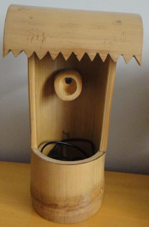 fontes de agua para decoracao de interiores : fontes de agua para decoracao de interiores:fonte de agua de bambu tratado decoracao fonte de agua de bambu
