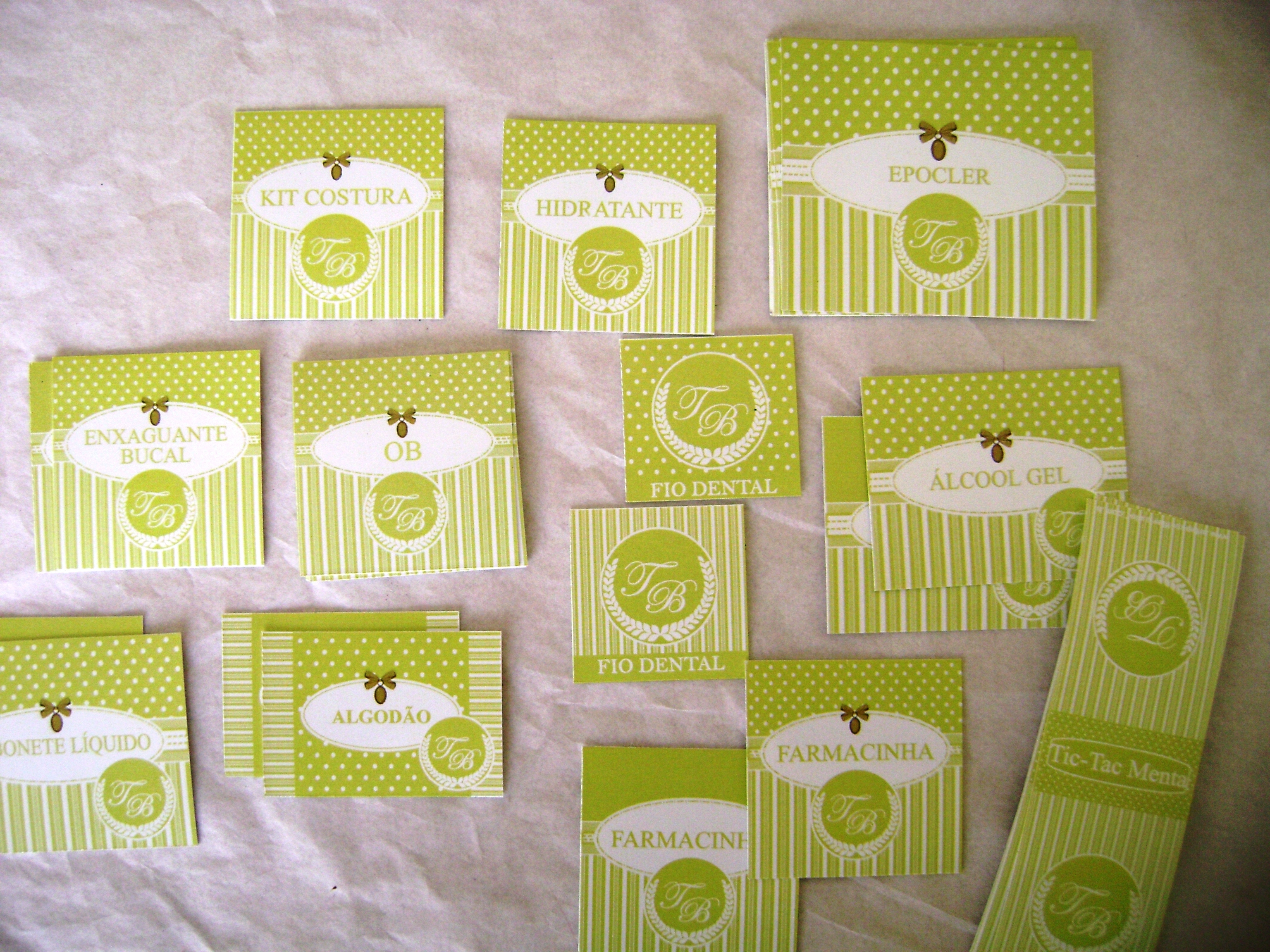 kit decoracao casamento:kit toilette casamento provencal verde kit toilette casamento