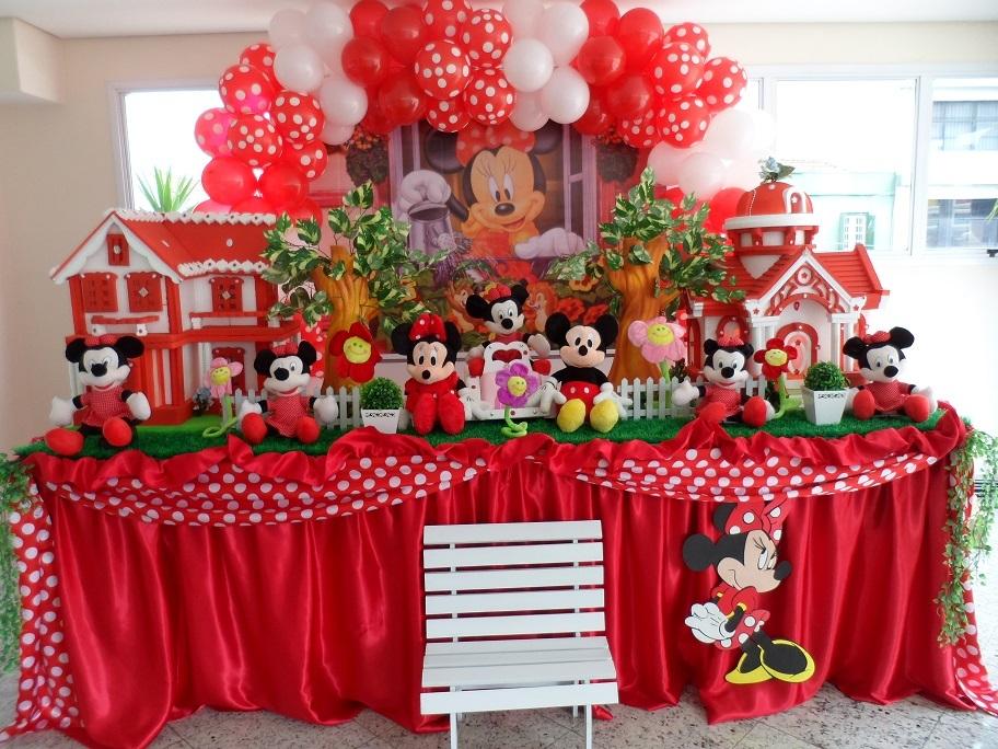 Mesa da Minnie Vermelha Mesa da Minnie Vermelha Mesa da Minnie