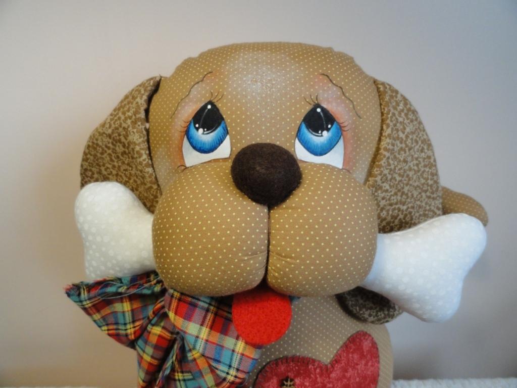 Cachorro Scooby peso de porta - Magiarte Artesanato - Elo7