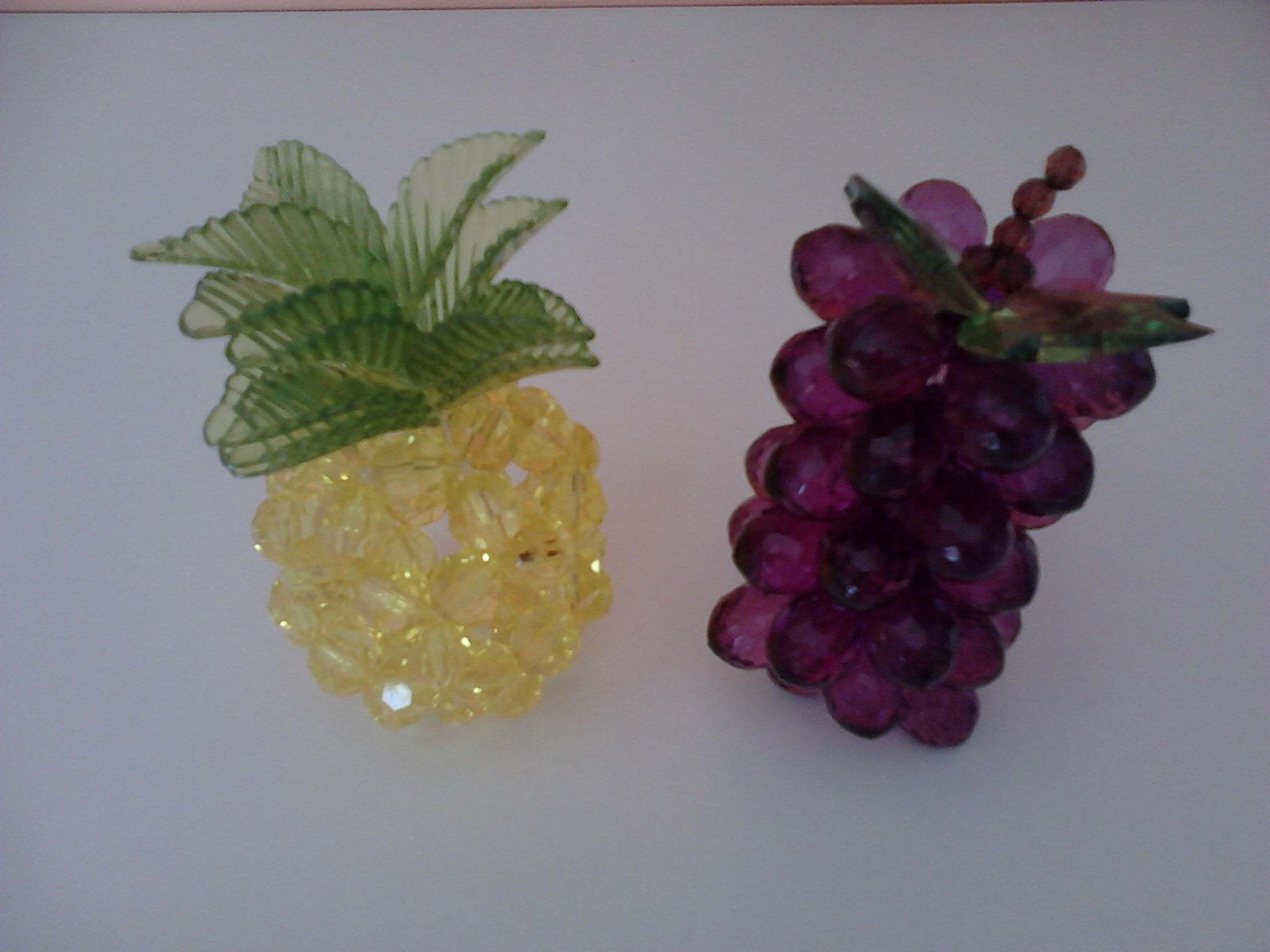 Enfeite De Frutas ~ Enfeites de Pedraria C Formato de Frutas Elo7