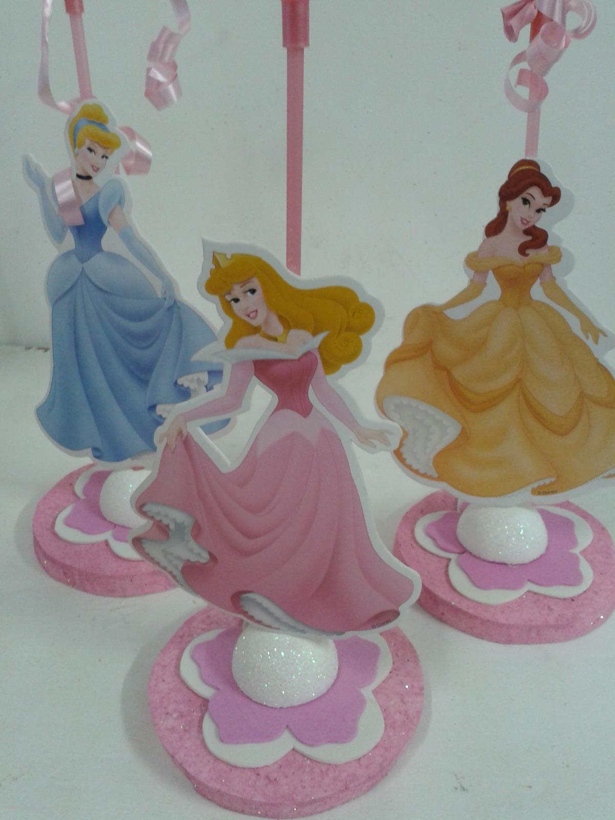Centro de mesa princesas imagui - Mesas infantiles disney ...
