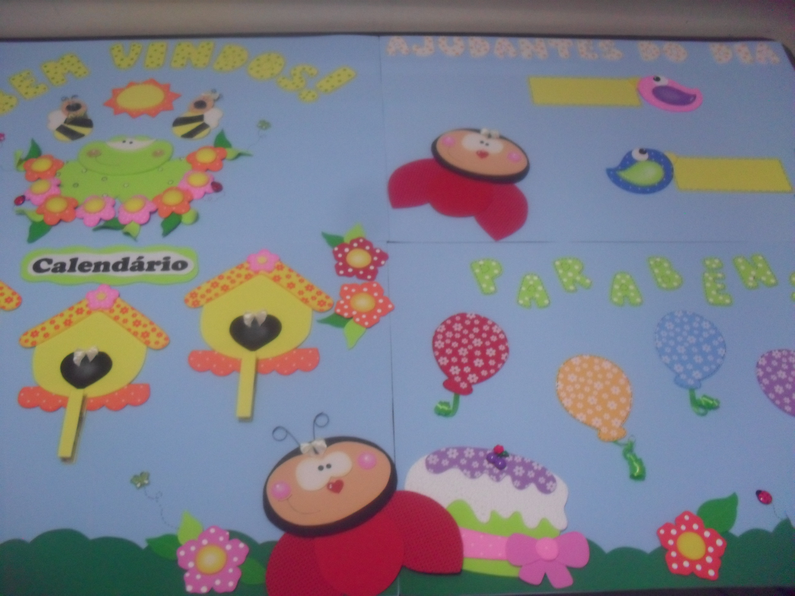 decoracao sala de aula jardim encantado:de sala de aula Jardim Kit Decoração de sala de aula Jardim