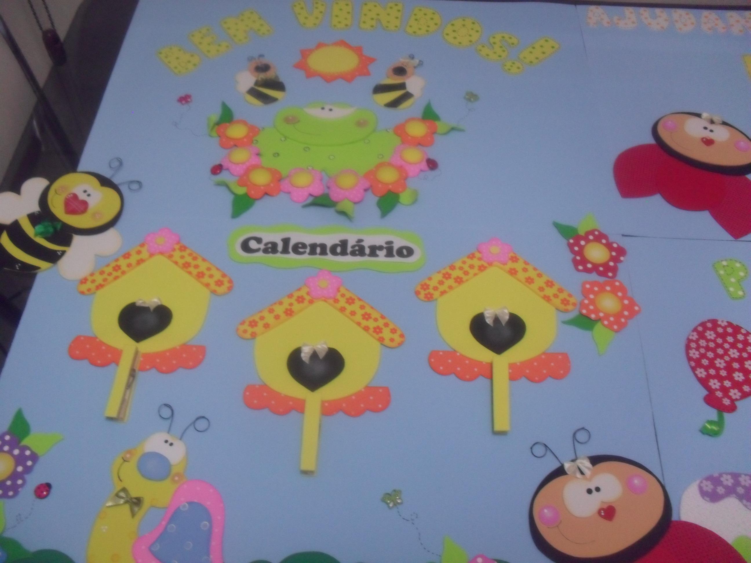 Decoracao De Sala Da Aula ~ decoracao sala de aula jardim encantadode sala de aula Jardim Kit
