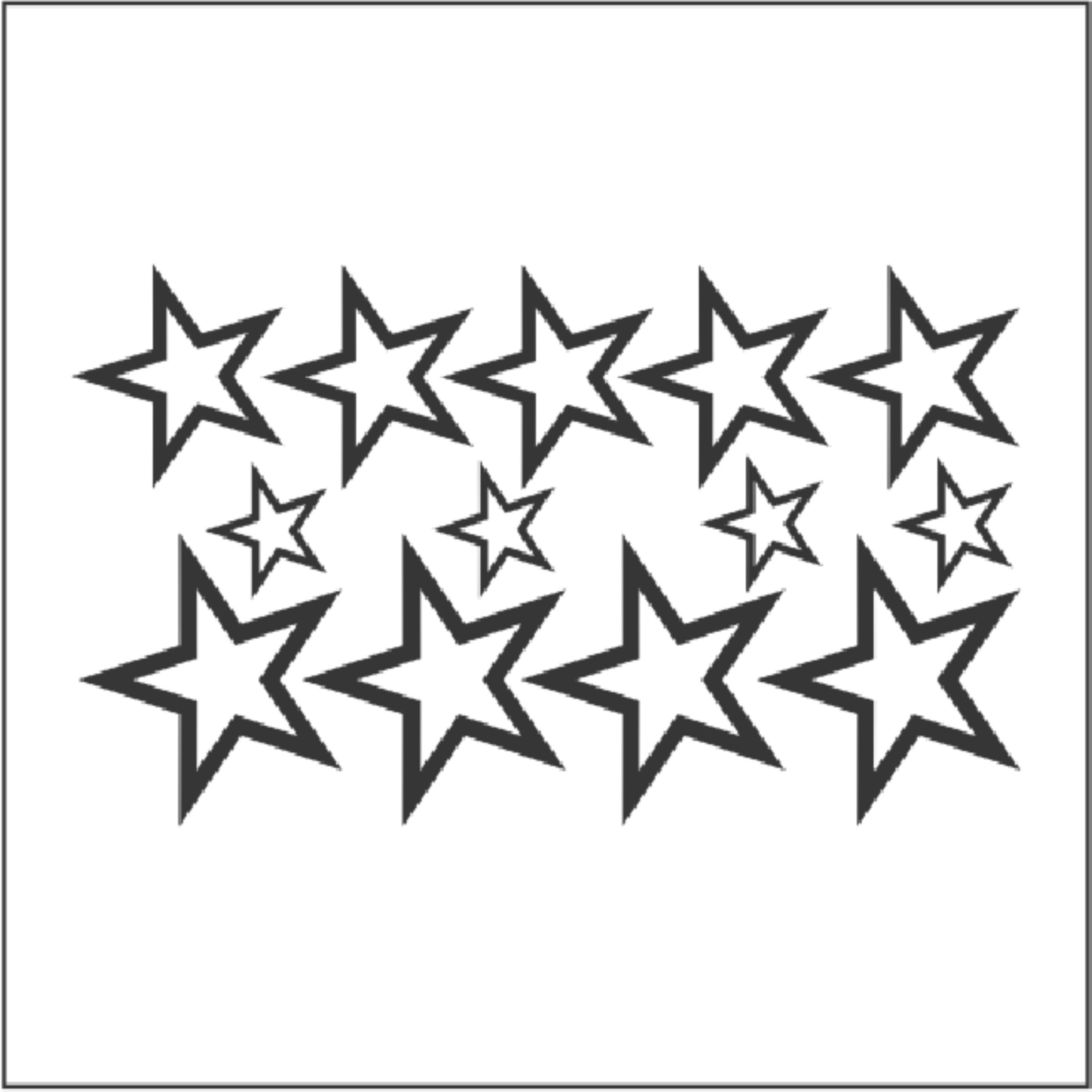 Armario Joyeria ~ Adesivo Decoraç u00e3o Cartela De Estrelas Adesivos de Parede