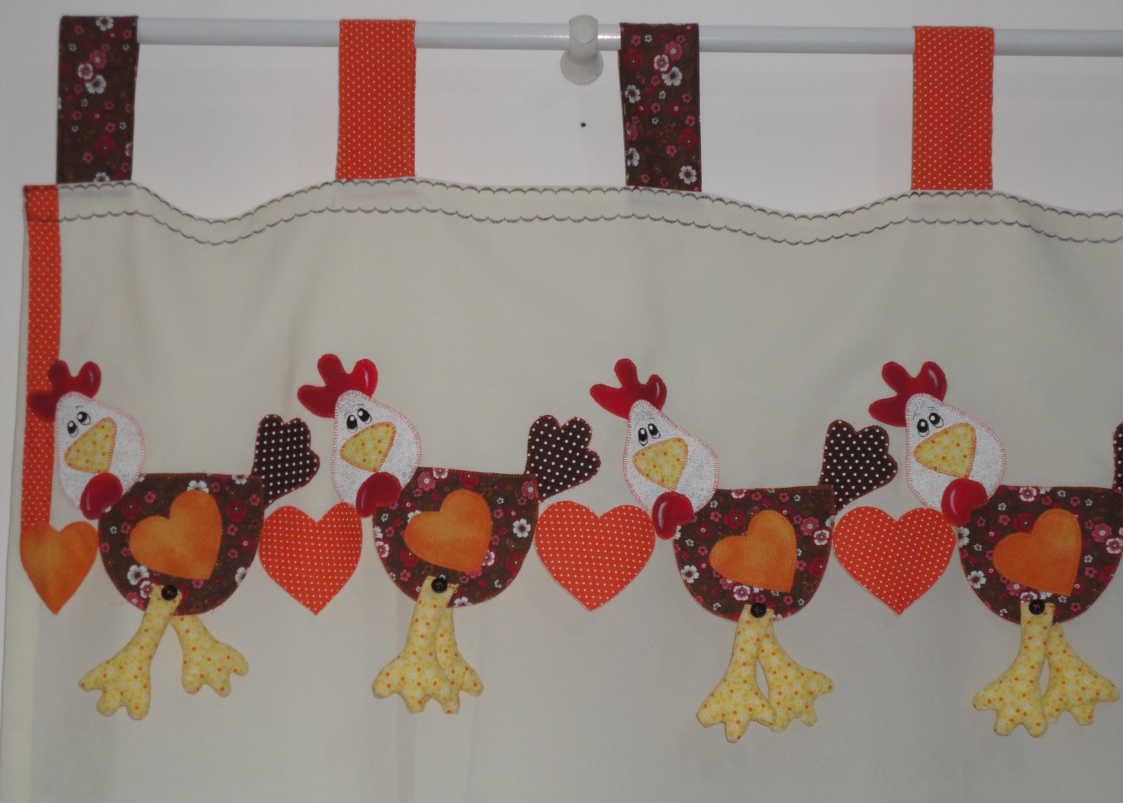 cortina de cozinha galinhas cortina de cozinha galinhas patchaplique