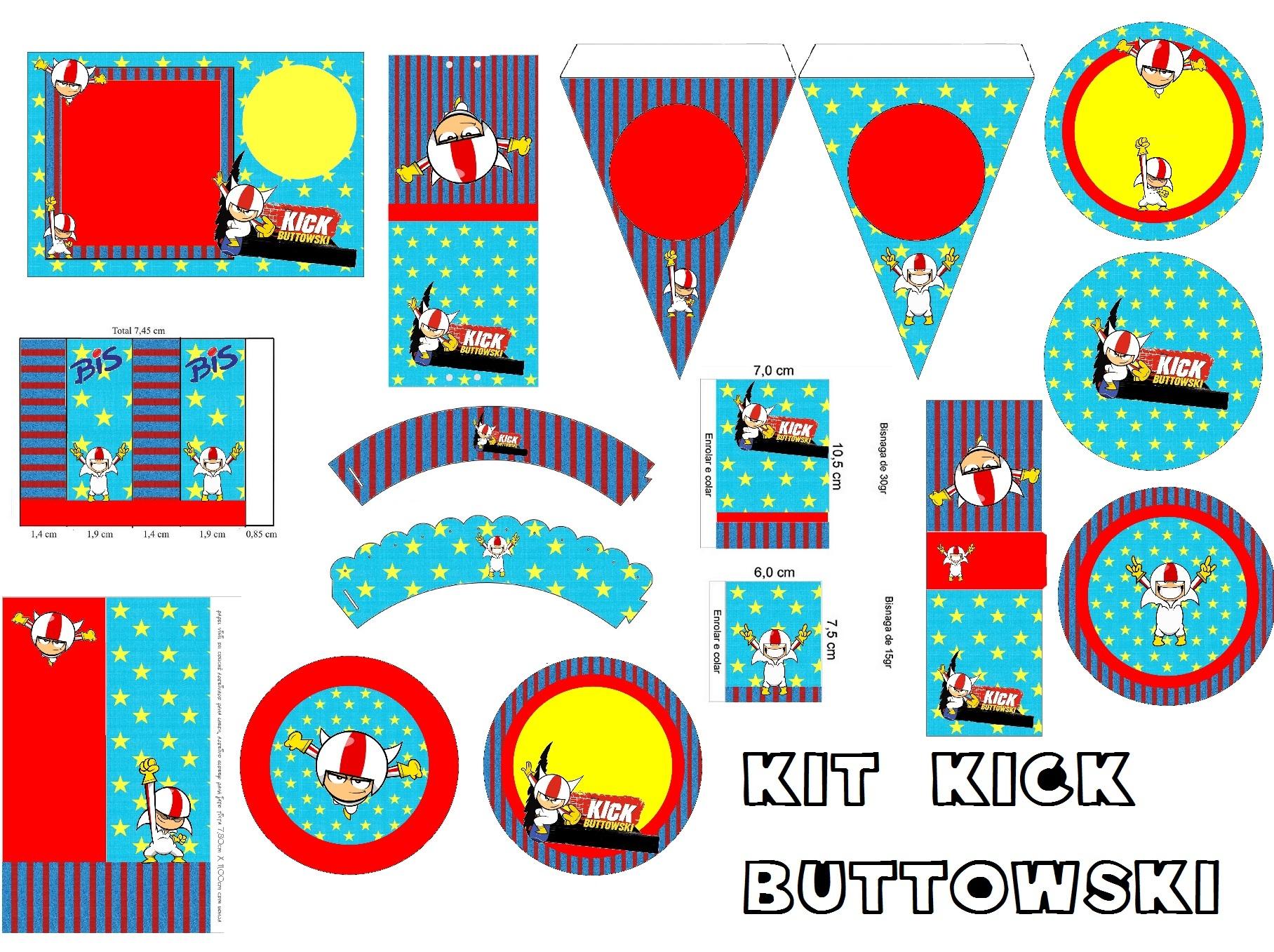 decoracao festa infantil kick buttowski: kick buttowski r $ 0 99 r $ 2 50 revista personalizada kick buttowski