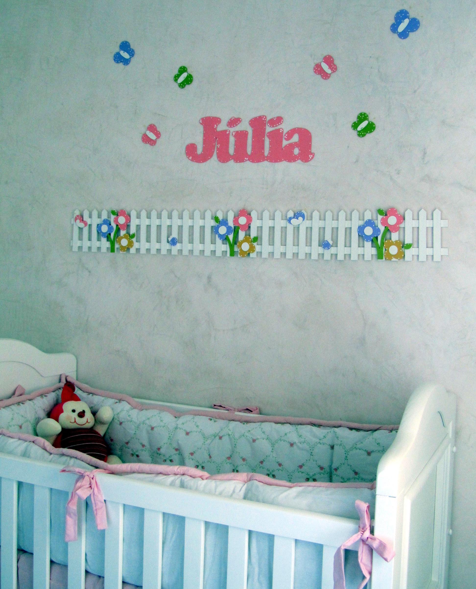 border (mural) decoração quarto bebê  Atelie Path Art  Elo7