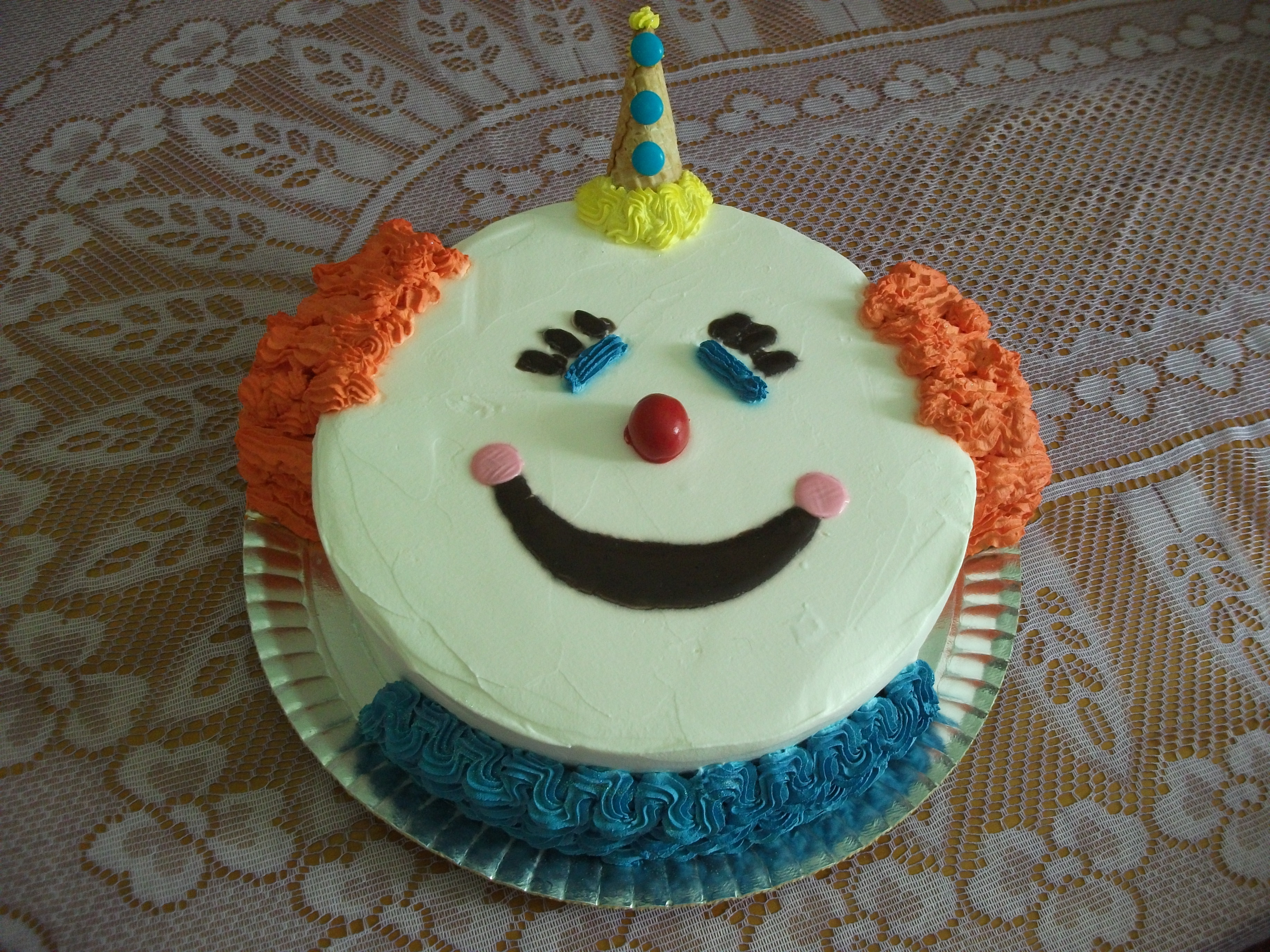 Bolo Palha  O Iii Clown Cake 3 Flickr Photo Sharing Picture