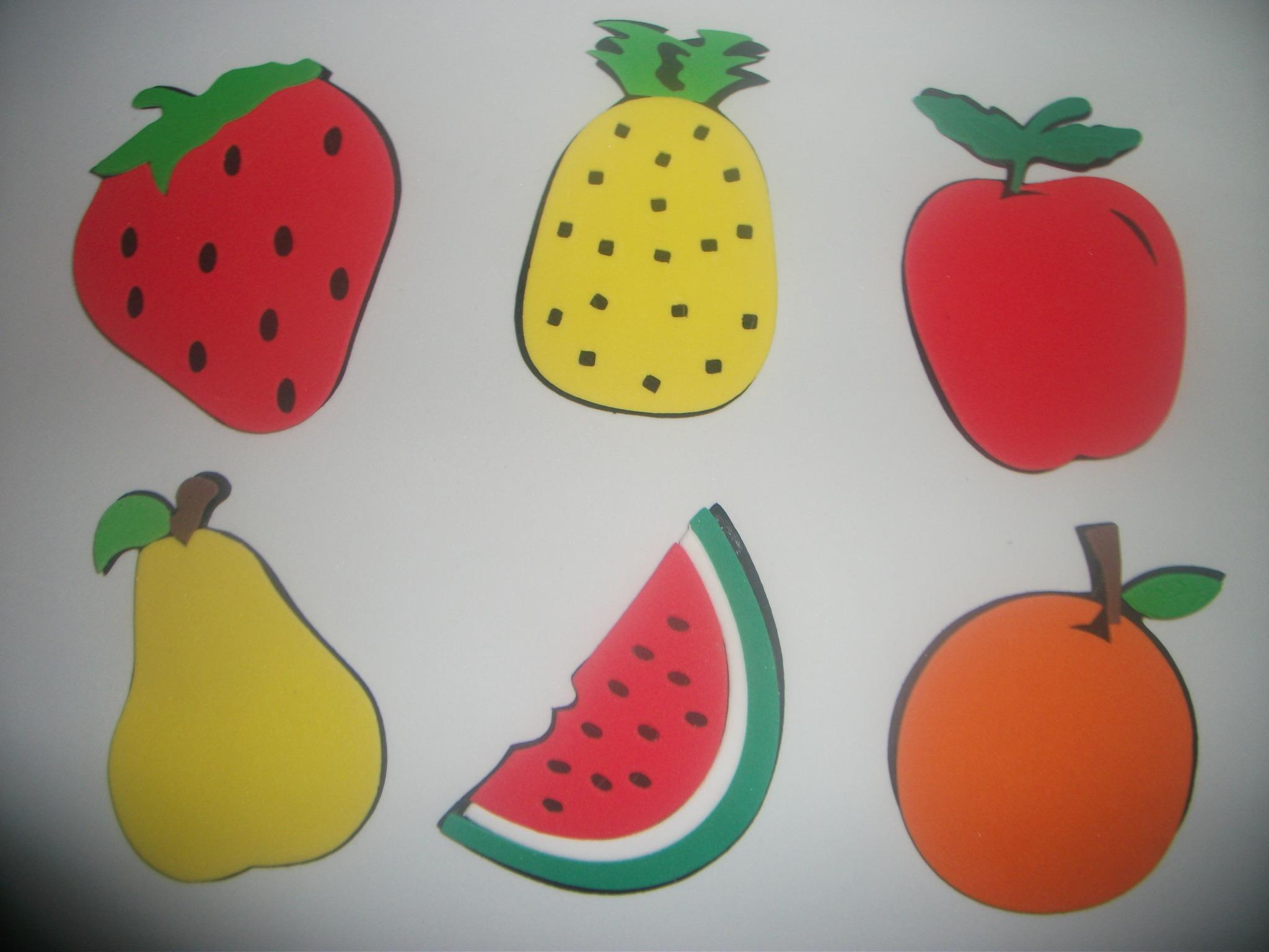 apliques de frutas feita em eva apliques de frutas feita em eva