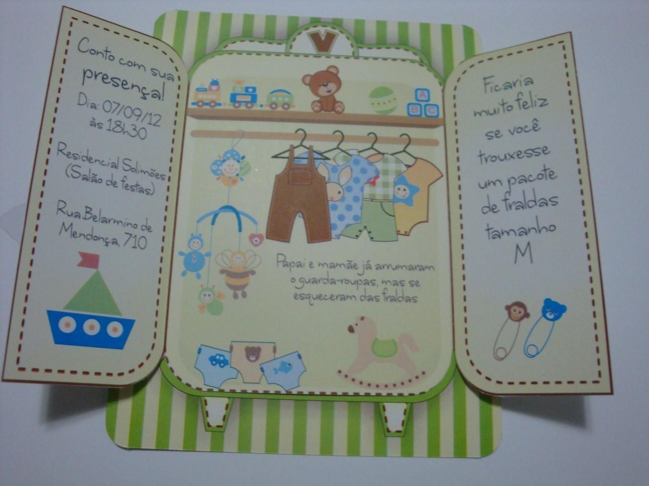 Guarda Roupa Bebe ~ Convites Para Beb Roupa Pictures Car Interior Design