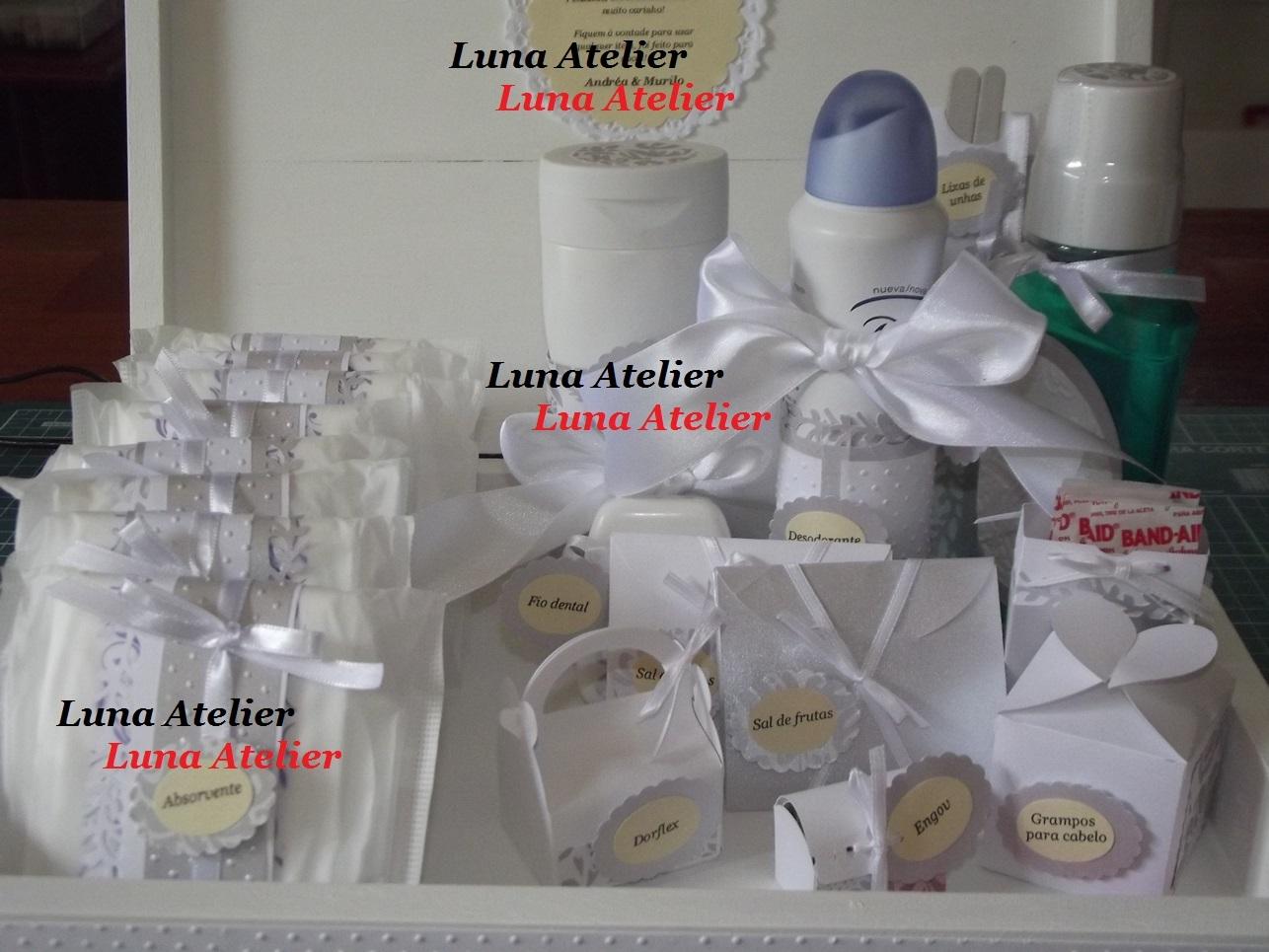 Kit Toalete Feminino Médio Casamento Luna Atelier Elo7 #7B5550 1286 965
