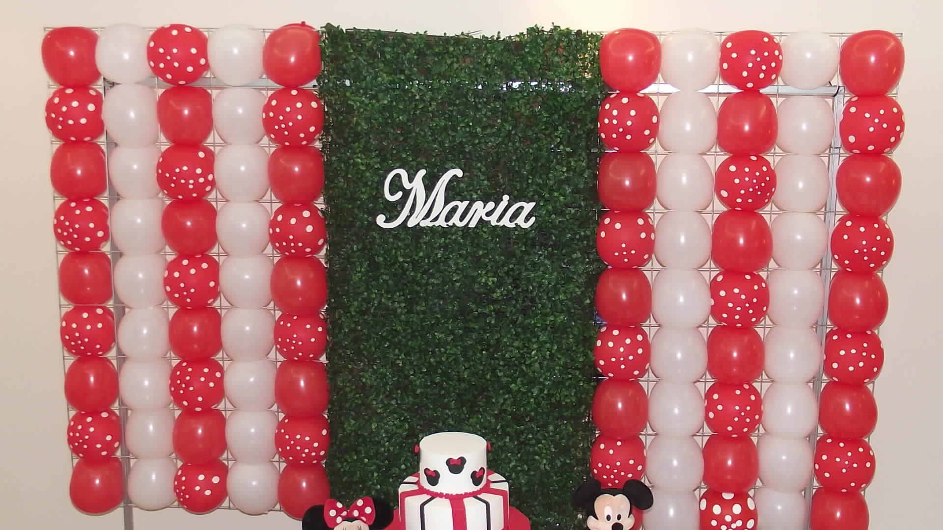 Decoracao Clean Minnie Vermelha Decoracao De Festa Infantil Pictures