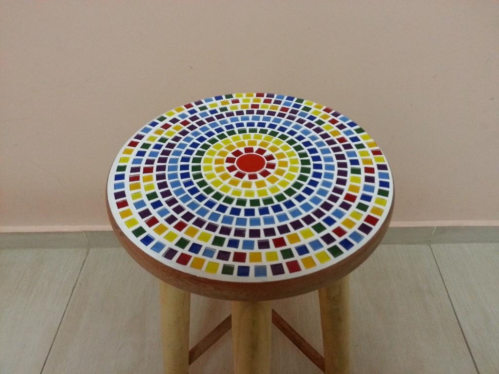banqueta madeira mosaico para balcao banqueta madeira mosaico para  #223569 1024x768