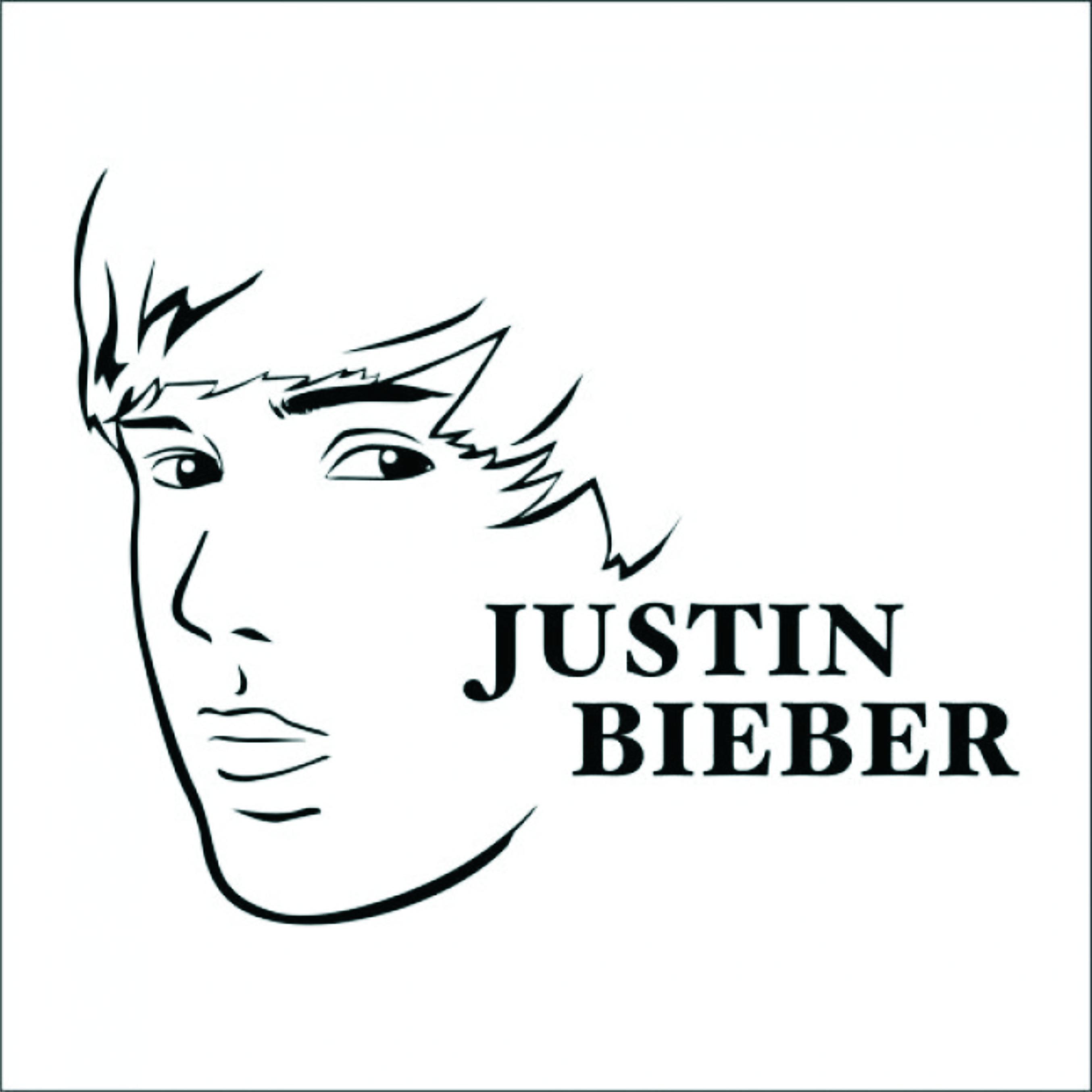 Adesivo De Parede Justin Bieber ~ Adesivo De Parede Musical Justin Bieber Adesivos de Parede com Frete Grátis Elo7