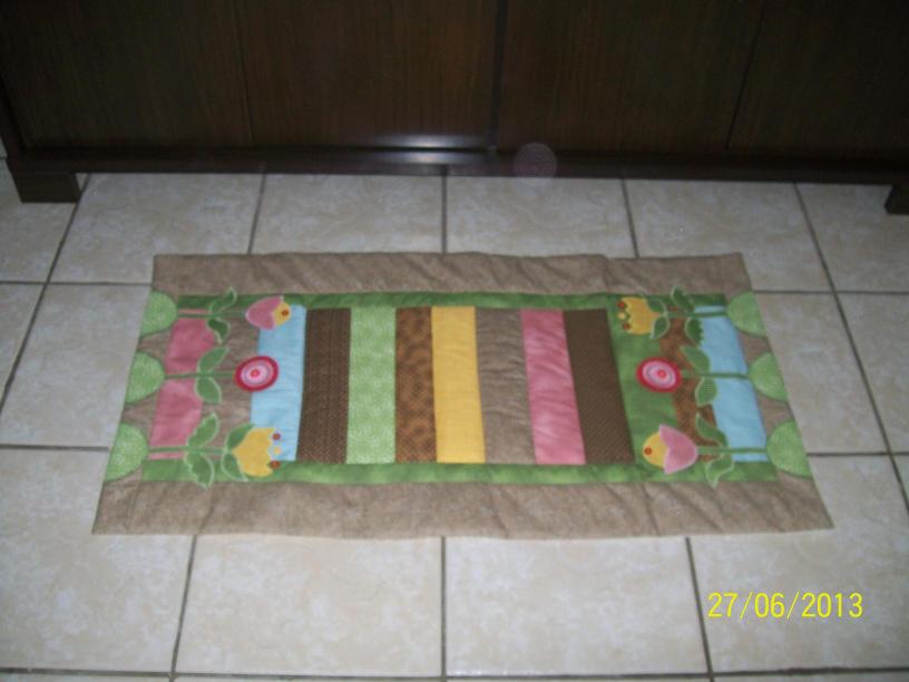Patchwork Tapete Cozinha Passo A Passo : tapete patchwork jardim tapete patchwork jardim