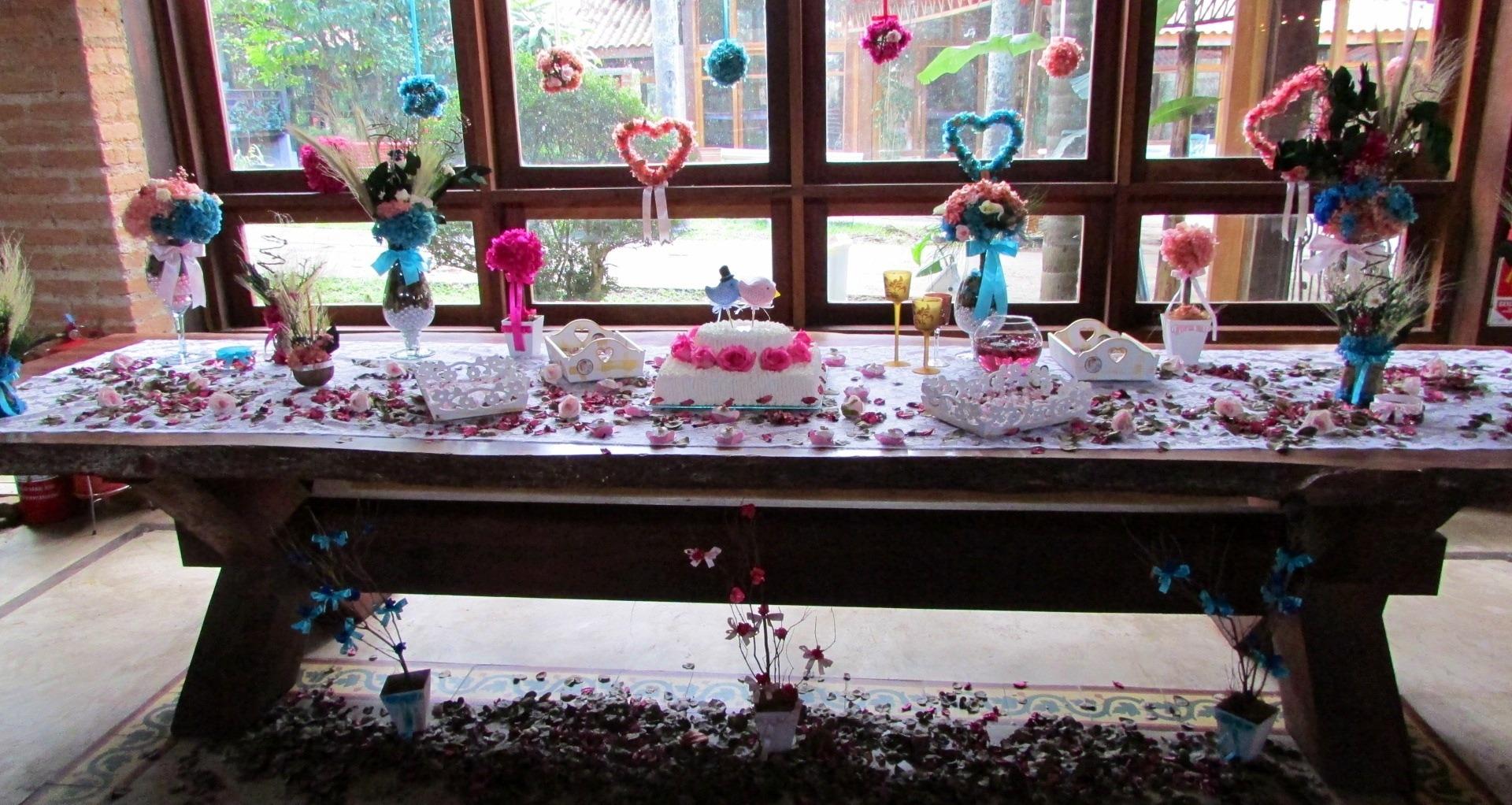 kit decoracao casamento:kit mesa de bolo noiva completa i kit mesa de bolo noiva completa i