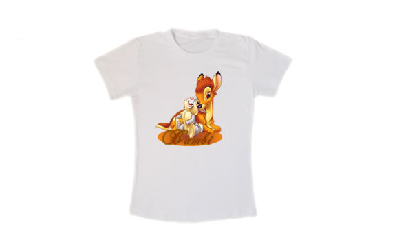 Camiseta do Bambi