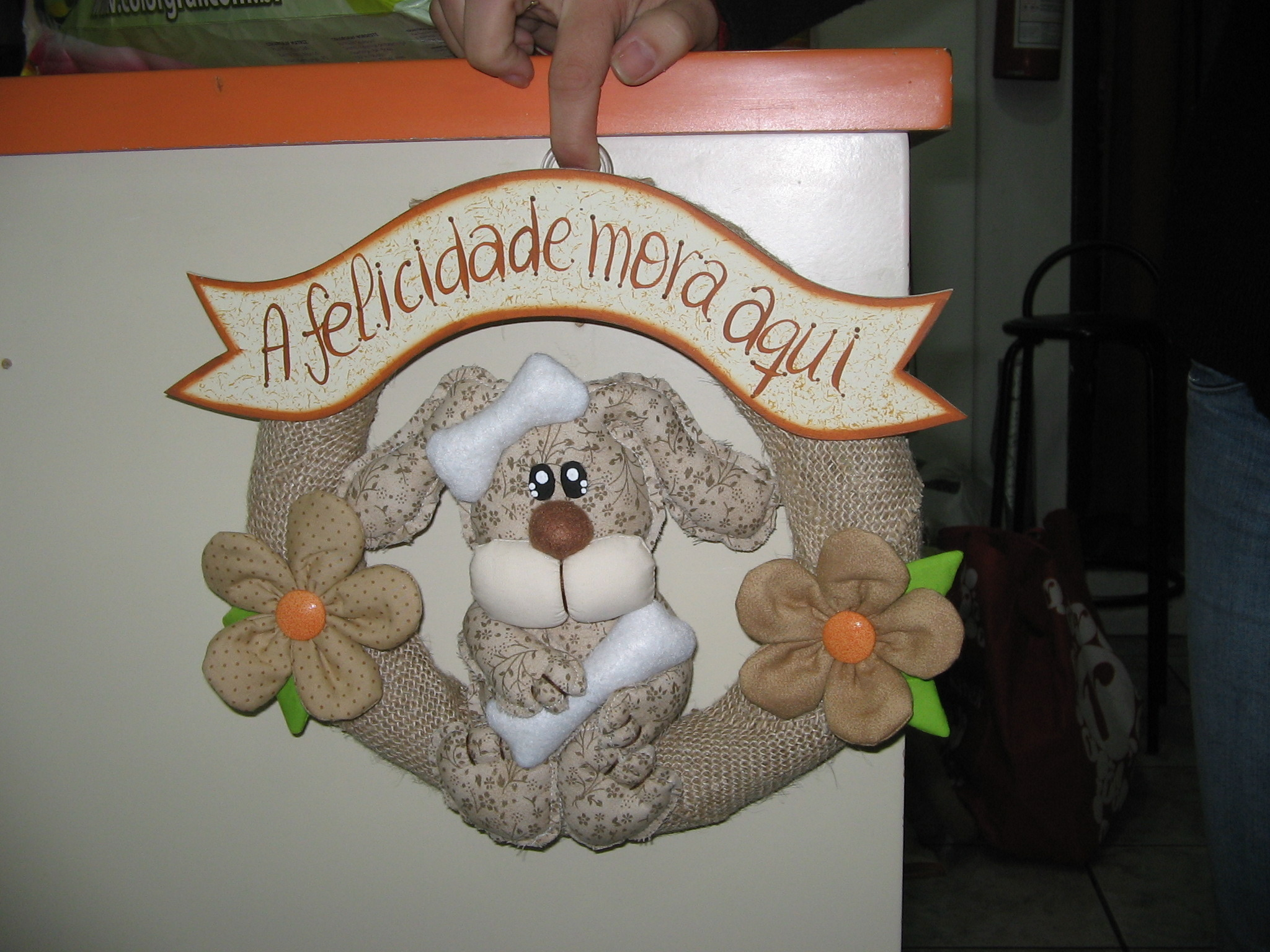 Guirlanda cachorro Carina Engelke Schoenardie Elo7 #A04B2B 2048x1536 Banheiro De Cachorro Funciona