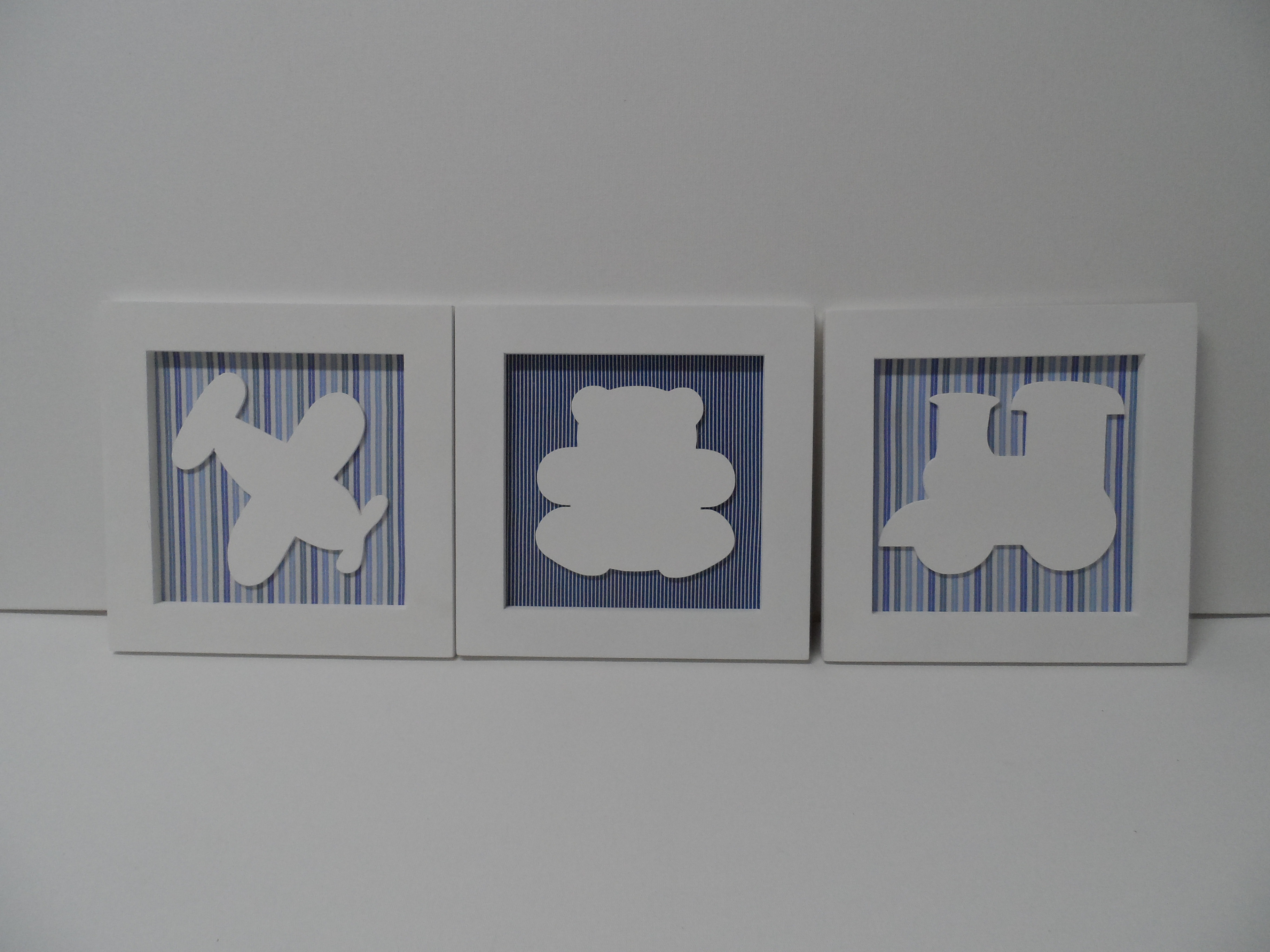 Quadros para quarto de bebê Cia das Artes Elo7