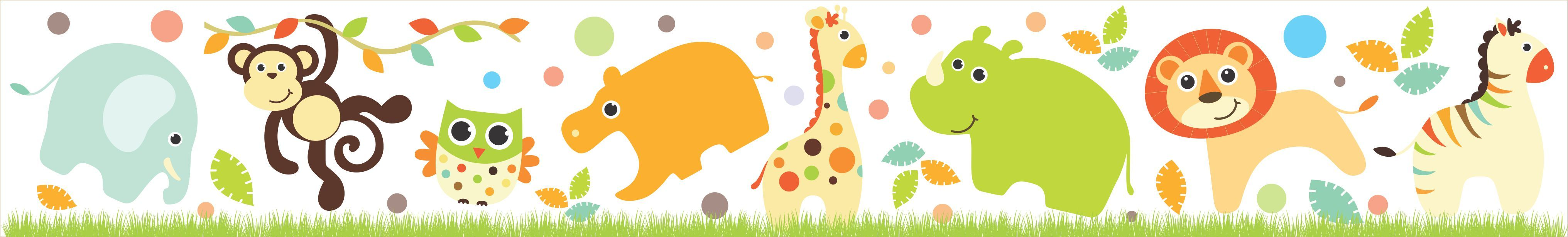 baby jungle animals borders pictures to pin on pinterest zebra border clip art free zebra border clip art free