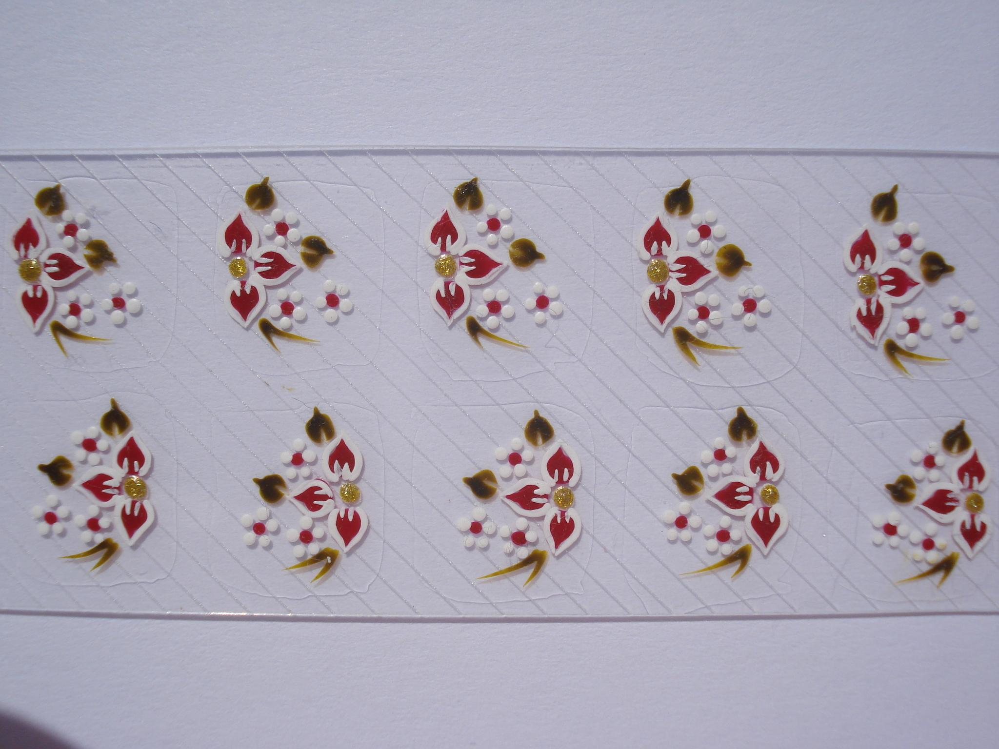 Armario De Quarto De Solteiro Modulado ~ Adesivo Para Unhas Flor De Canto Z Artes Adesivos Artesanais Elo7