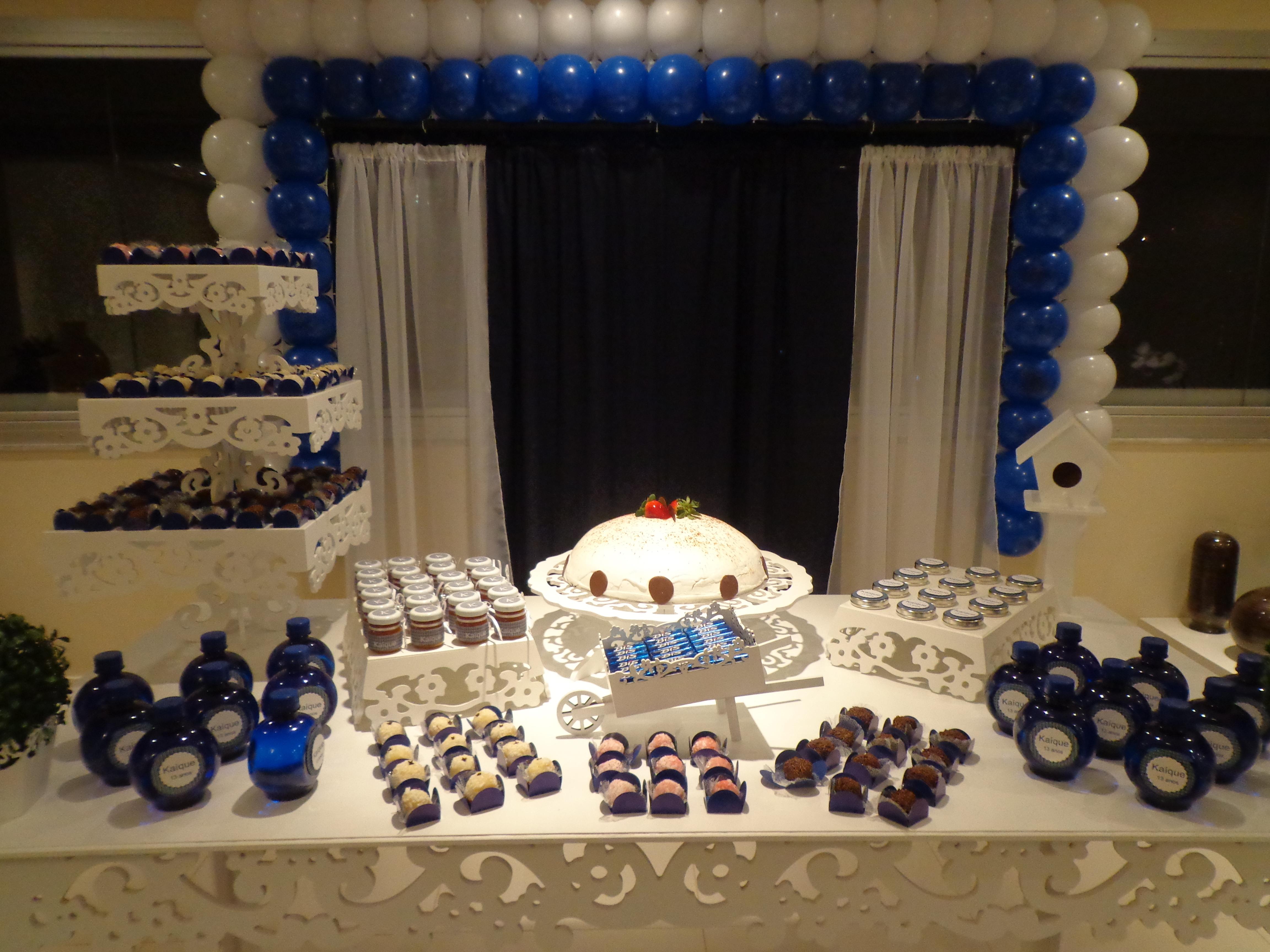 decoracao festa xadrez:Decoração Xadrez Azul Decoração Xadrez Azul Decoração Xadrez
